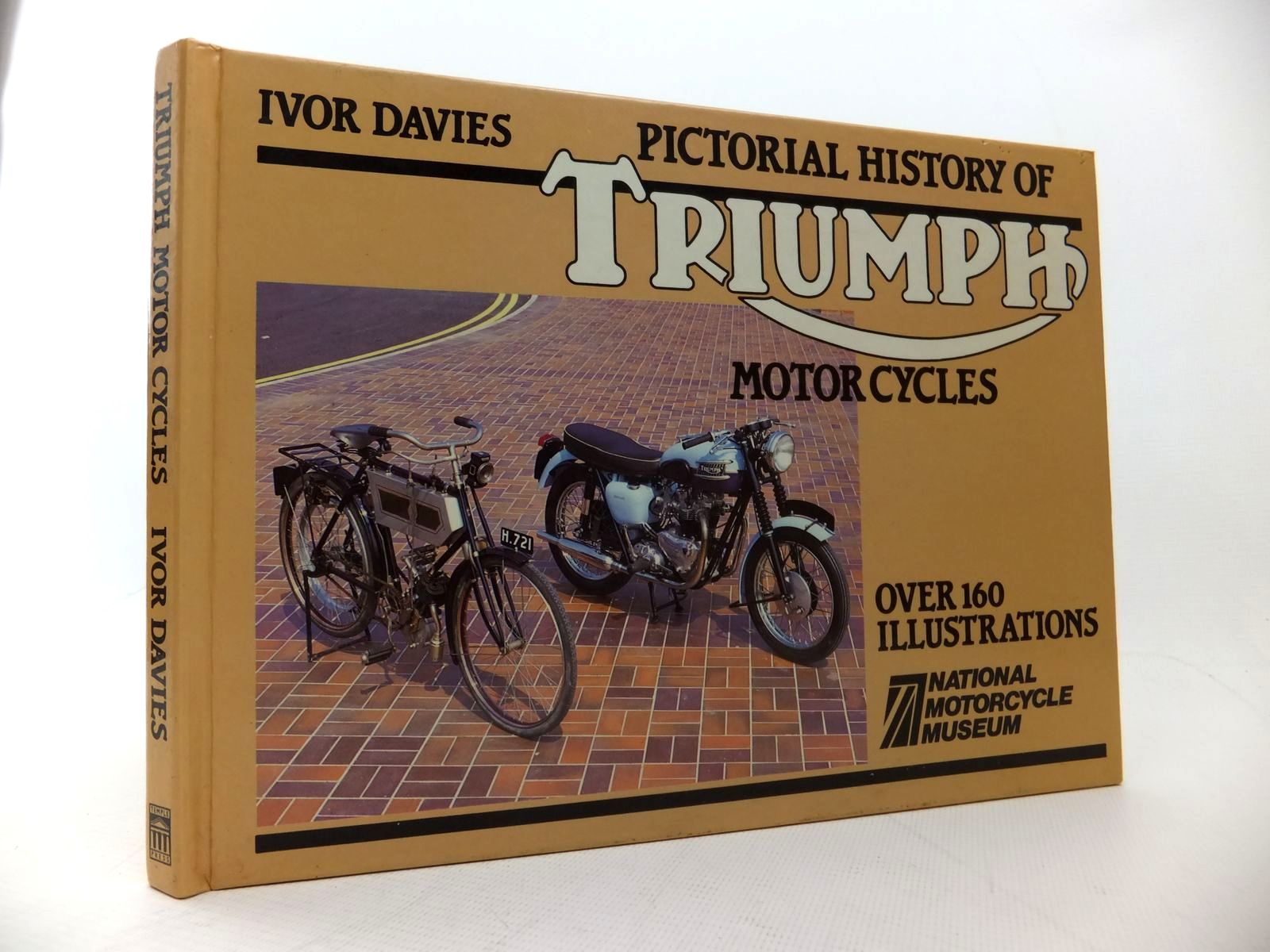 Photo of PICTORIAL HISTORY OF TRIUMPH MOTOR CYCLES written by Davies, Ivor published by Temple Press (STOCK CODE: 1814171)  for sale by Stella & Rose's Books