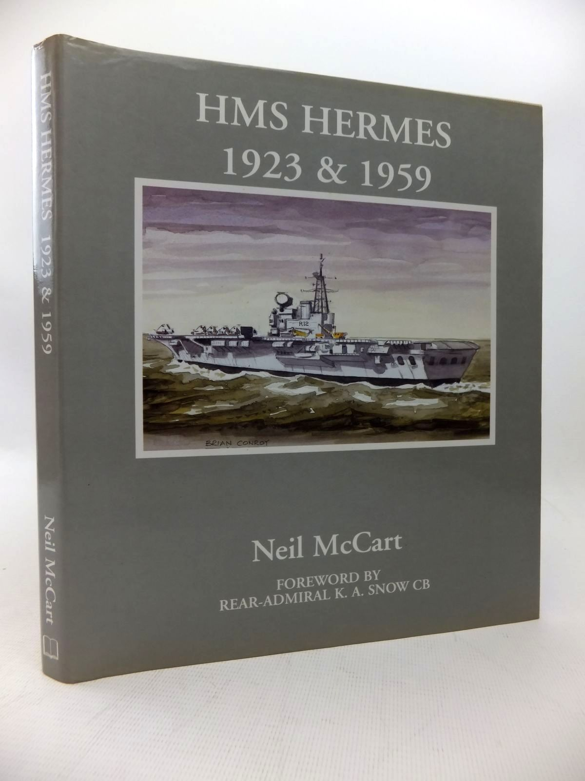 Photo of HMS HERMES 1923 & 1959 written by McCart, Neil published by Fan Publications (STOCK CODE: 1814203)  for sale by Stella & Rose's Books