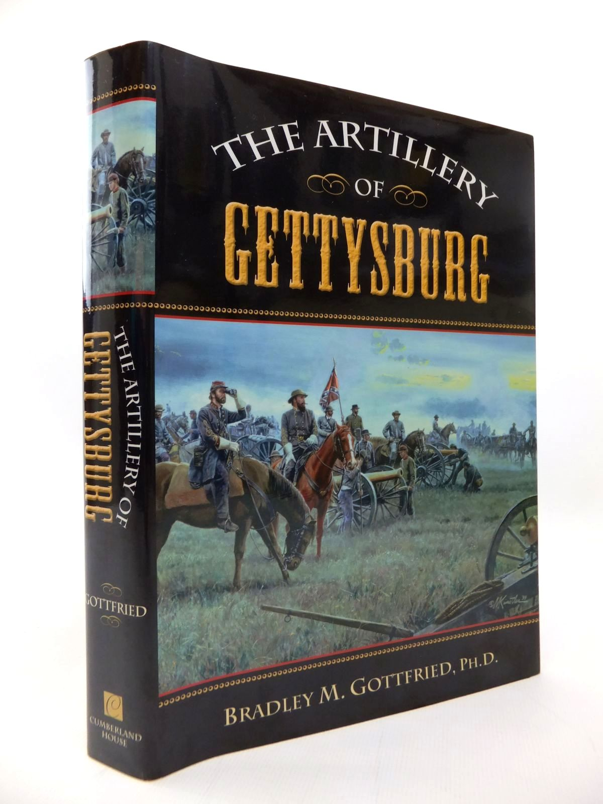 Photo of THE ARTILLERY OF GETTYSBURG written by Gottfried, Bradley M. published by Cumberland House (STOCK CODE: 1814241)  for sale by Stella & Rose's Books