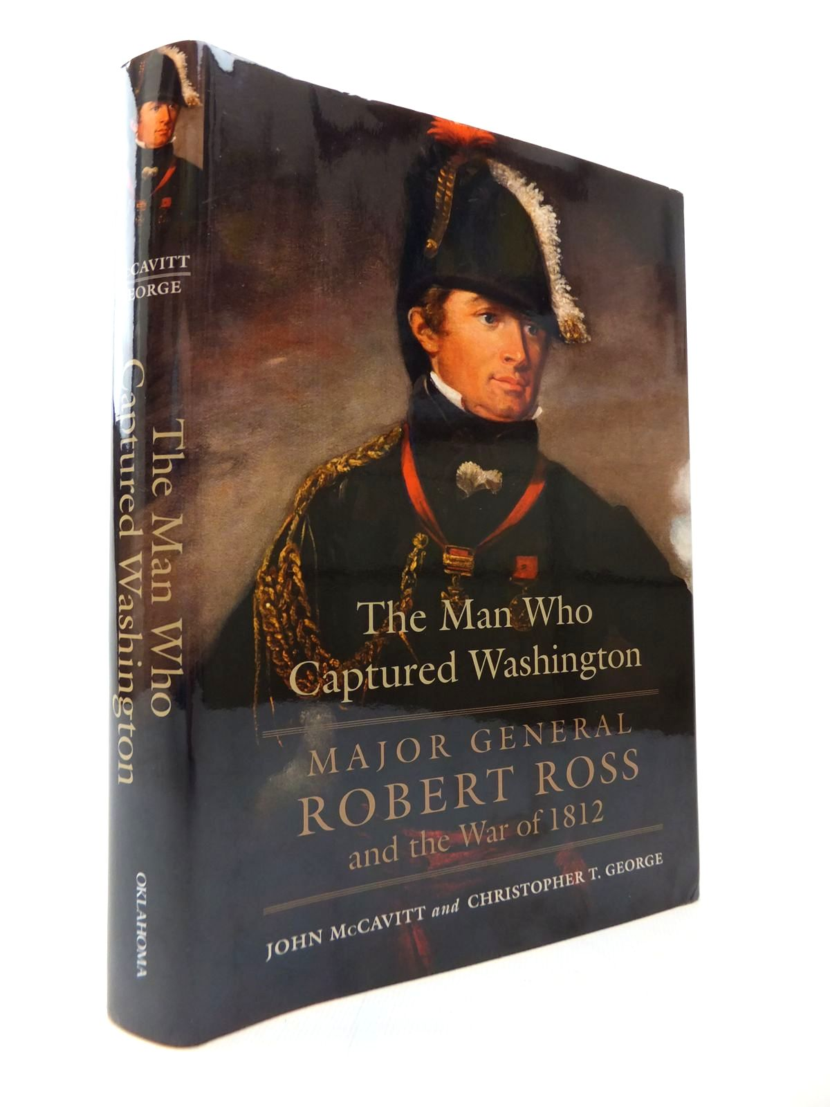 Photo of THE MAN WHO CAPTURED WASHINGTON written by McCavitt, John<br />George, Christopher T. published by University of Oklahoma Press (STOCK CODE: 1814244)  for sale by Stella & Rose's Books