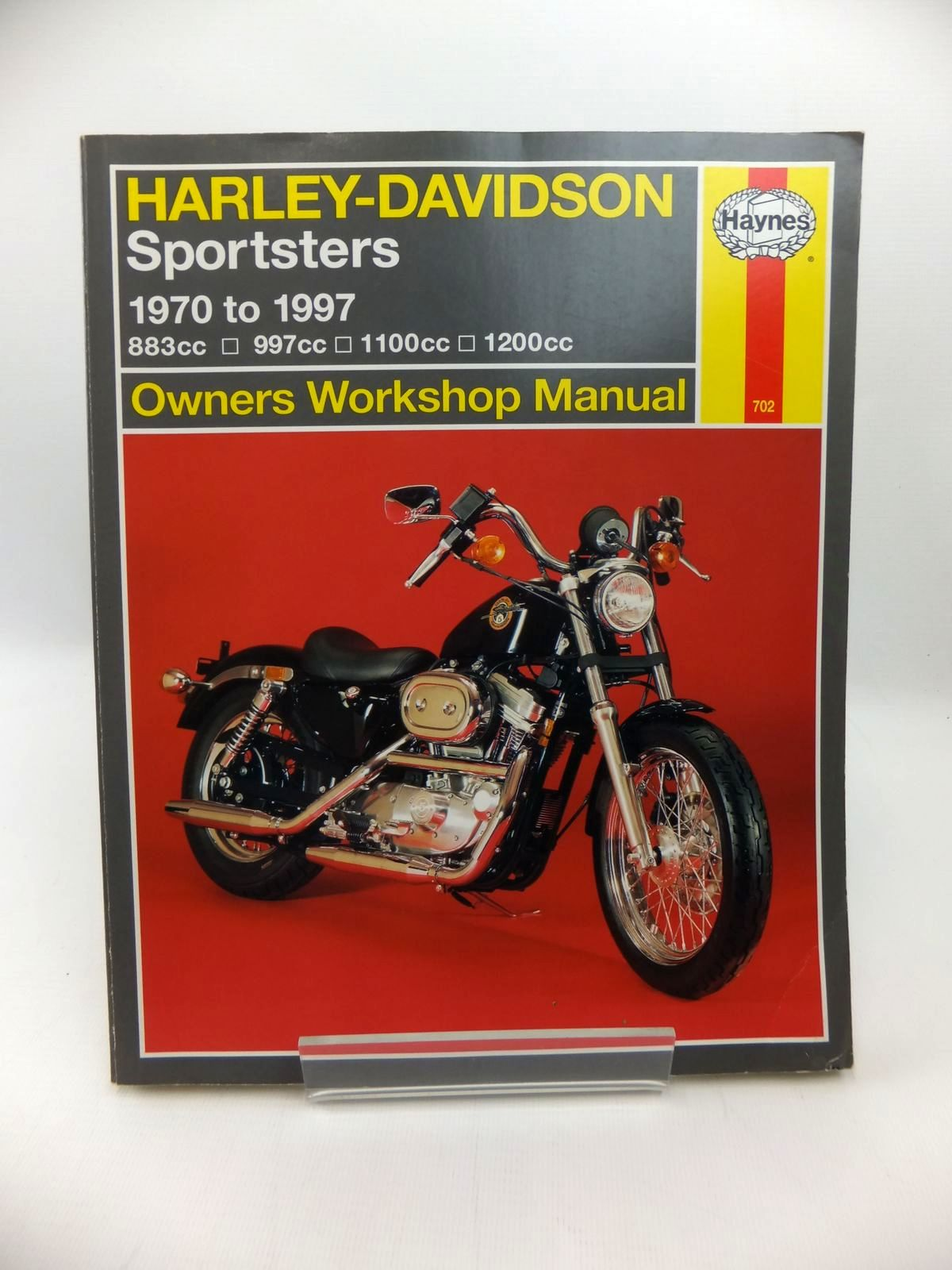 Photo of HARLEY-DAVIDSON SPORTSTERS OWNERS WORKSHOP MANUAL written by Choate, Curt<br />Schauwecker, Tom<br />Haynes, John H. published by Haynes Publishing (STOCK CODE: 1814259)  for sale by Stella & Rose's Books