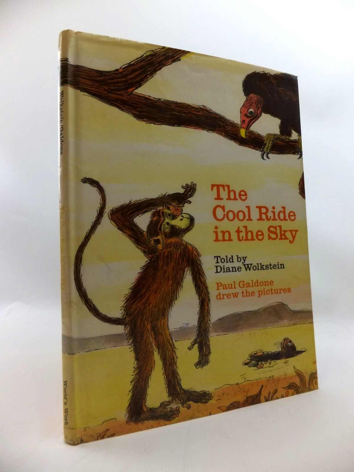Photo of THE COOL RIDE IN THE SKY written by Wolkstein, Diane illustrated by Galdone, Paul published by World's Work (STOCK CODE: 1814296)  for sale by Stella & Rose's Books