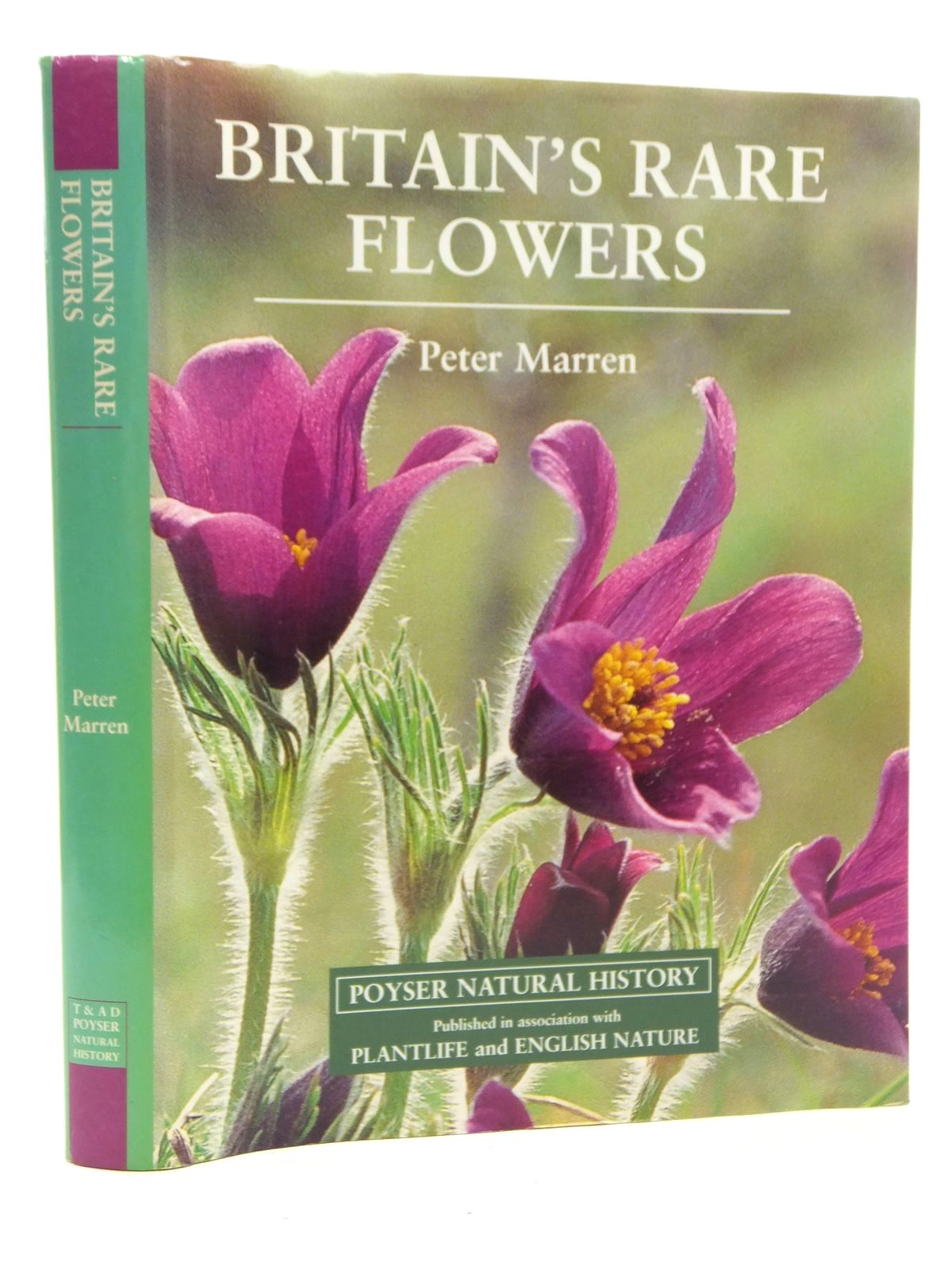 Photo of BRITAIN'S RARE FLOWERS written by Marren, Peter published by T. & A.D. Poyser (STOCK CODE: 1814319)  for sale by Stella & Rose's Books