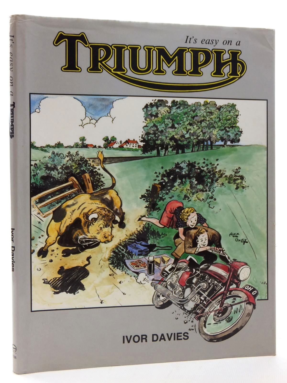 Photo of IT'S EASY ON A TRIUMPH written by Davies, Ivor published by Foulis, Haynes (STOCK CODE: 1814332)  for sale by Stella & Rose's Books