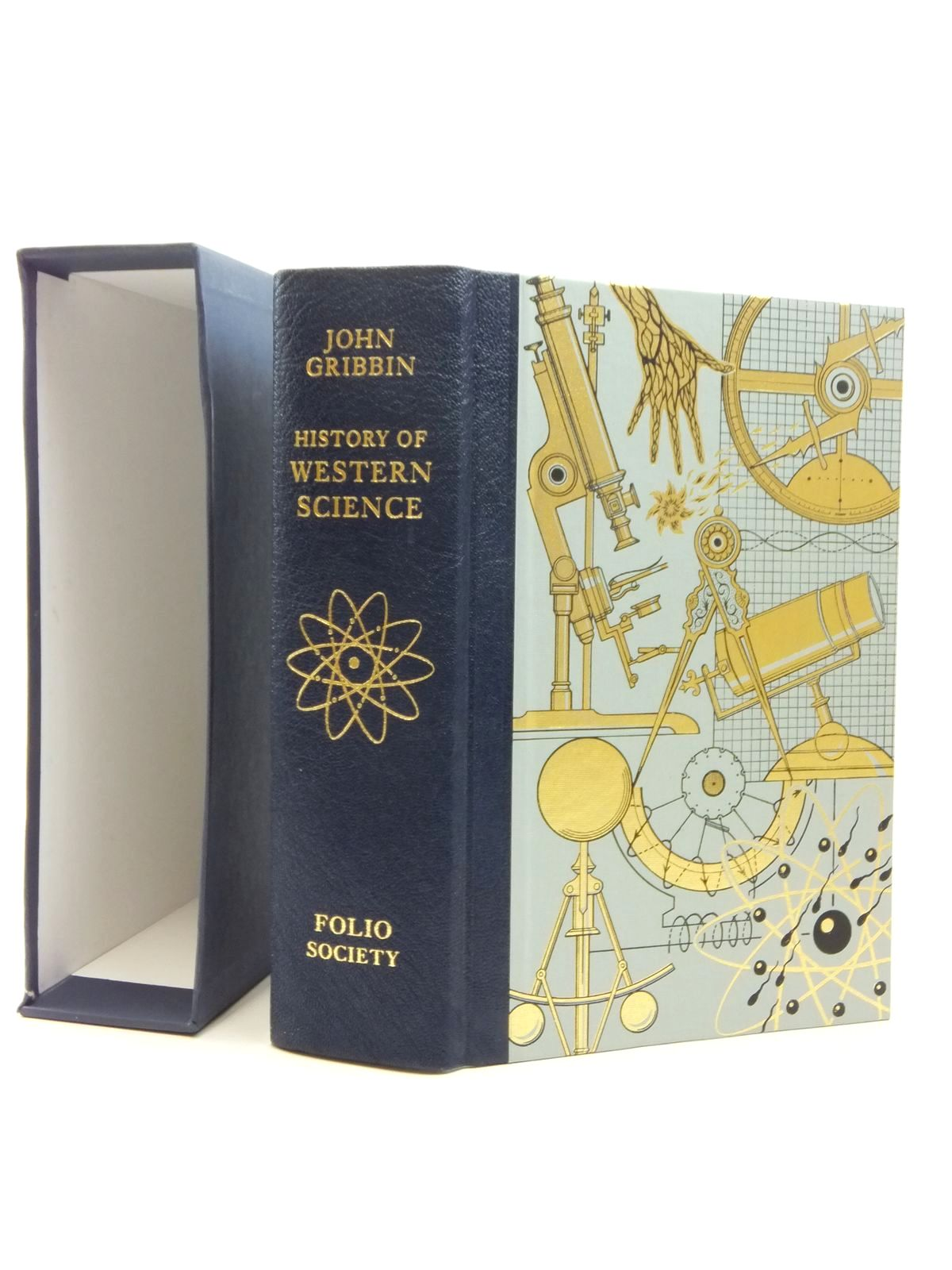 Photo of HISTORY OF WESTERN SCIENCE written by Gribbin, John published by Folio Society (STOCK CODE: 1814344)  for sale by Stella & Rose's Books