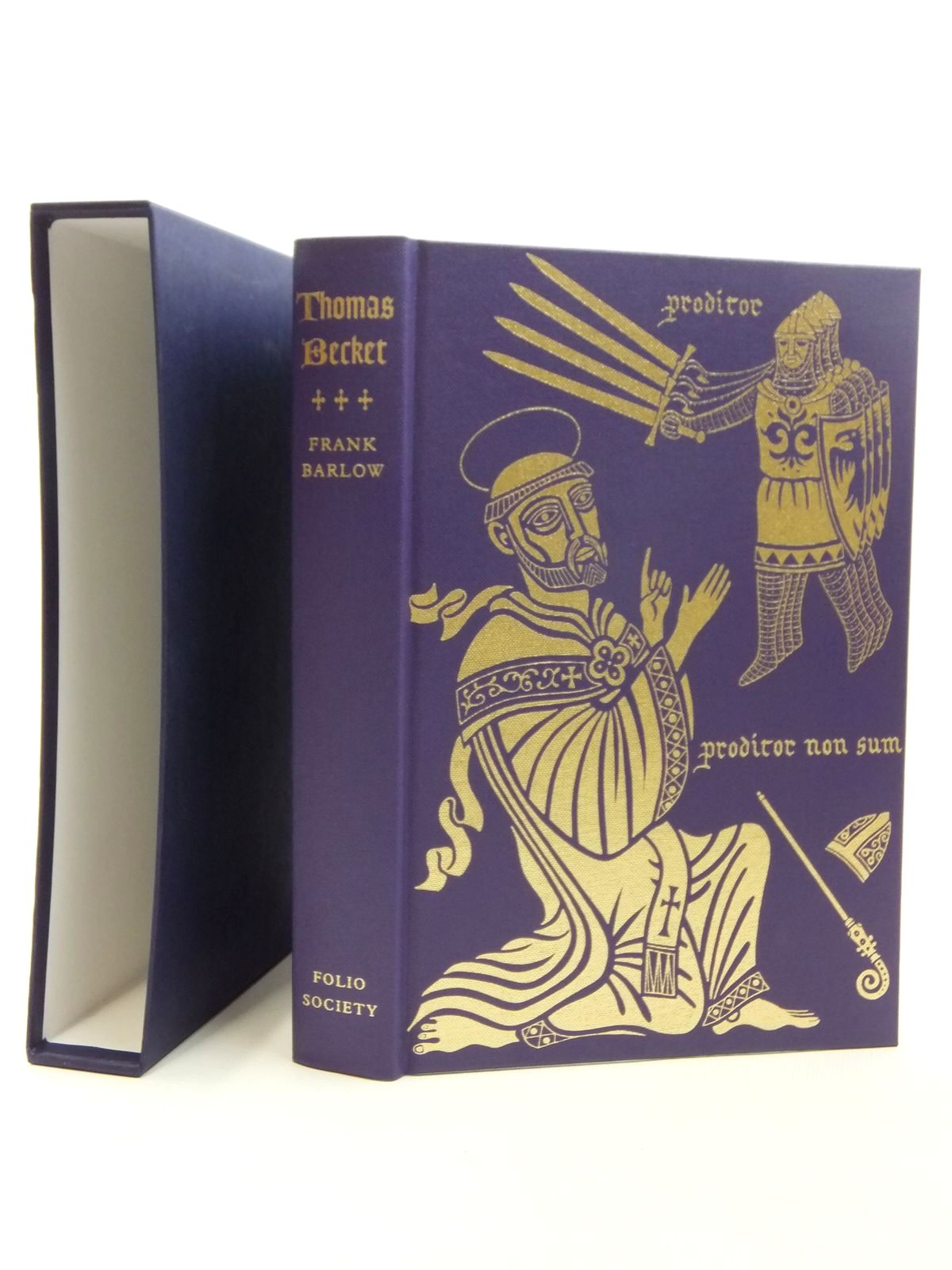 Photo of THOMAS BECKET written by Barlow, Frank published by Folio Society (STOCK CODE: 1814345)  for sale by Stella & Rose's Books