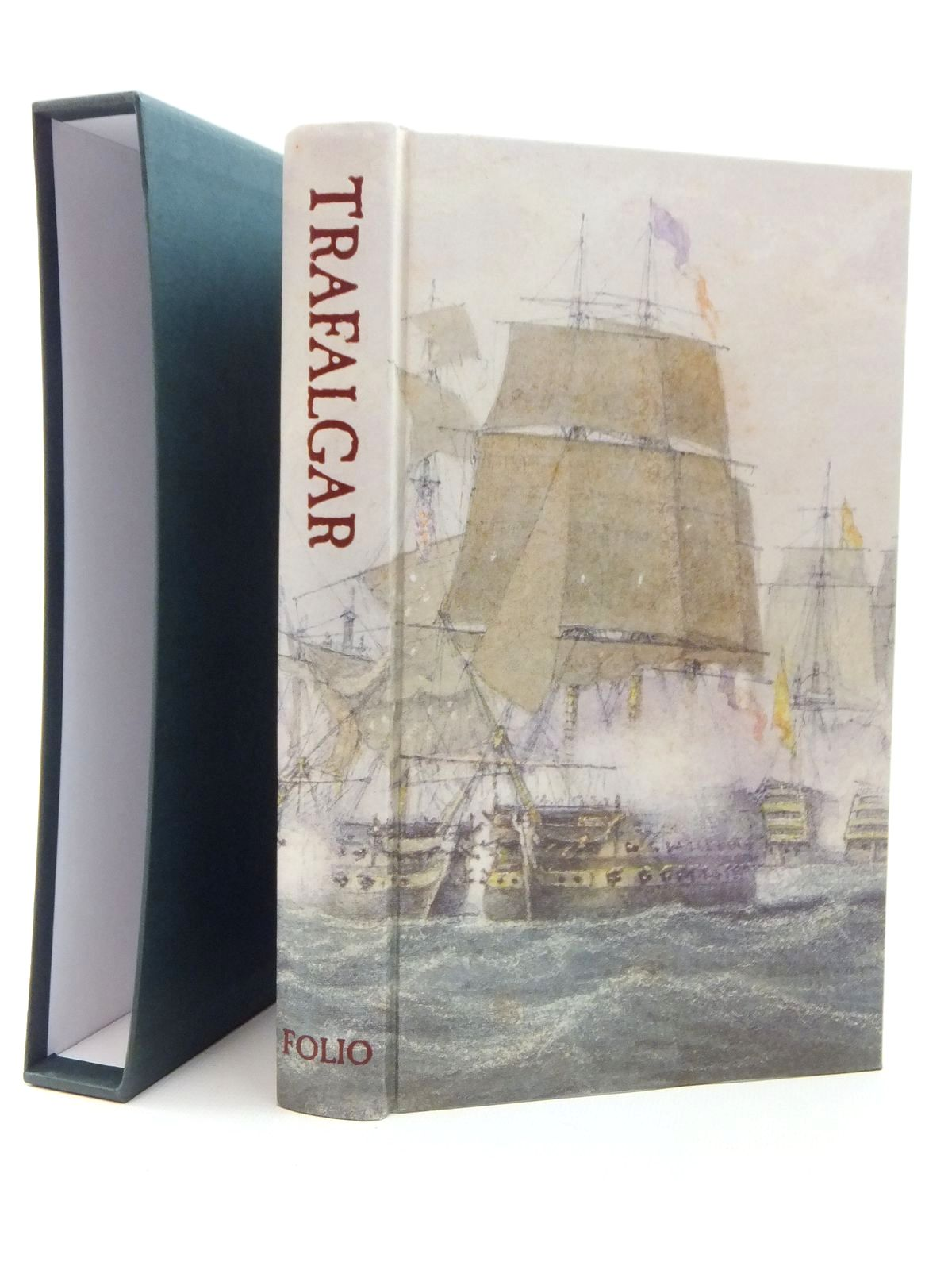 Photo of TRAFALGAR AN EYEWITNESS HISTORY written by Pocock, Tom illustrated by Piggott, Reginarld<br />Turner, J.M.W. published by Folio Society (STOCK CODE: 1814349)  for sale by Stella & Rose's Books