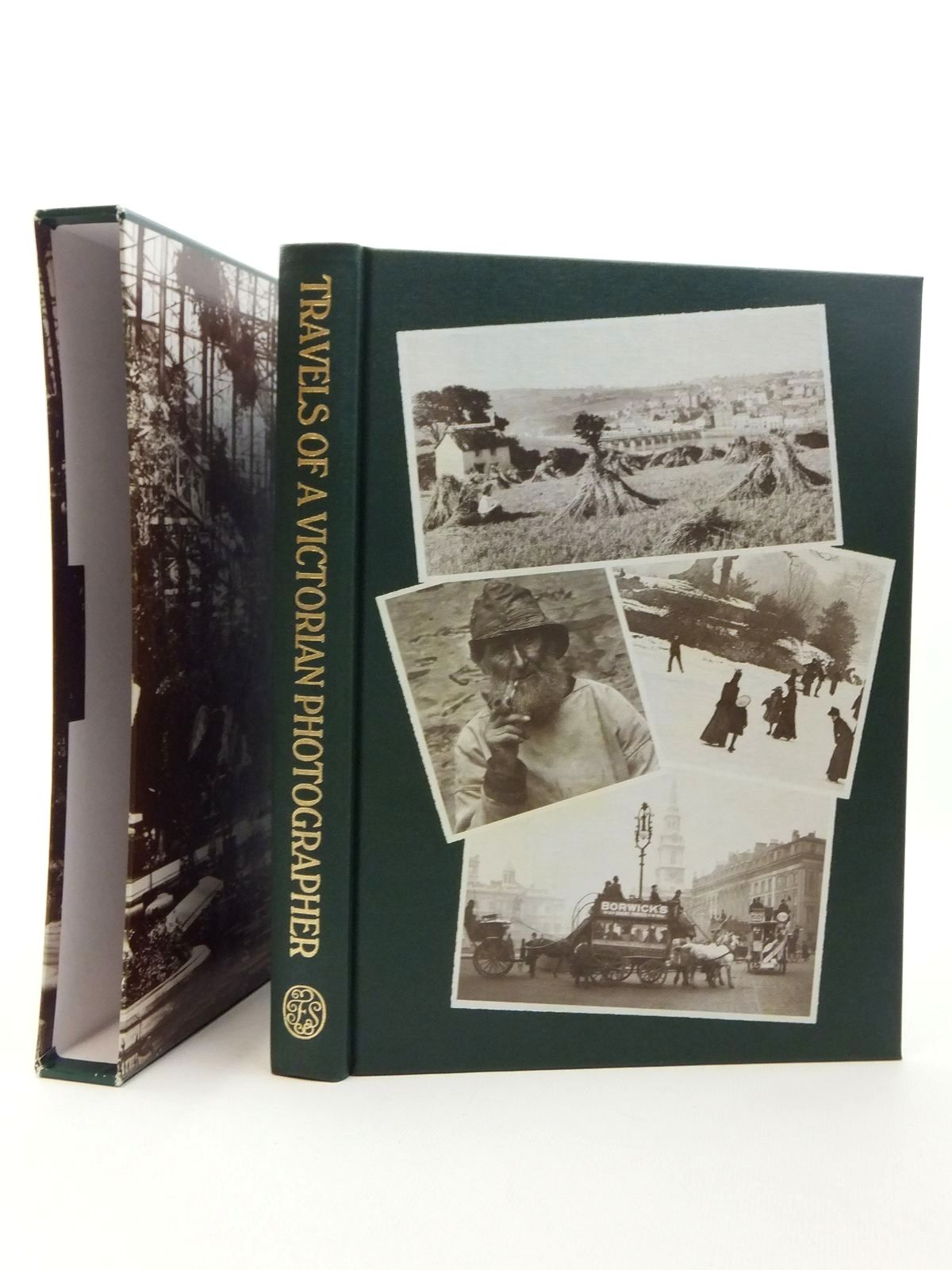 Photo of TRAVELS OF A VICTORIAN PHOTOGRAPHER written by Hudson, Roger illustrated by Frith, Francis published by Folio Society (STOCK CODE: 1814350)  for sale by Stella & Rose's Books
