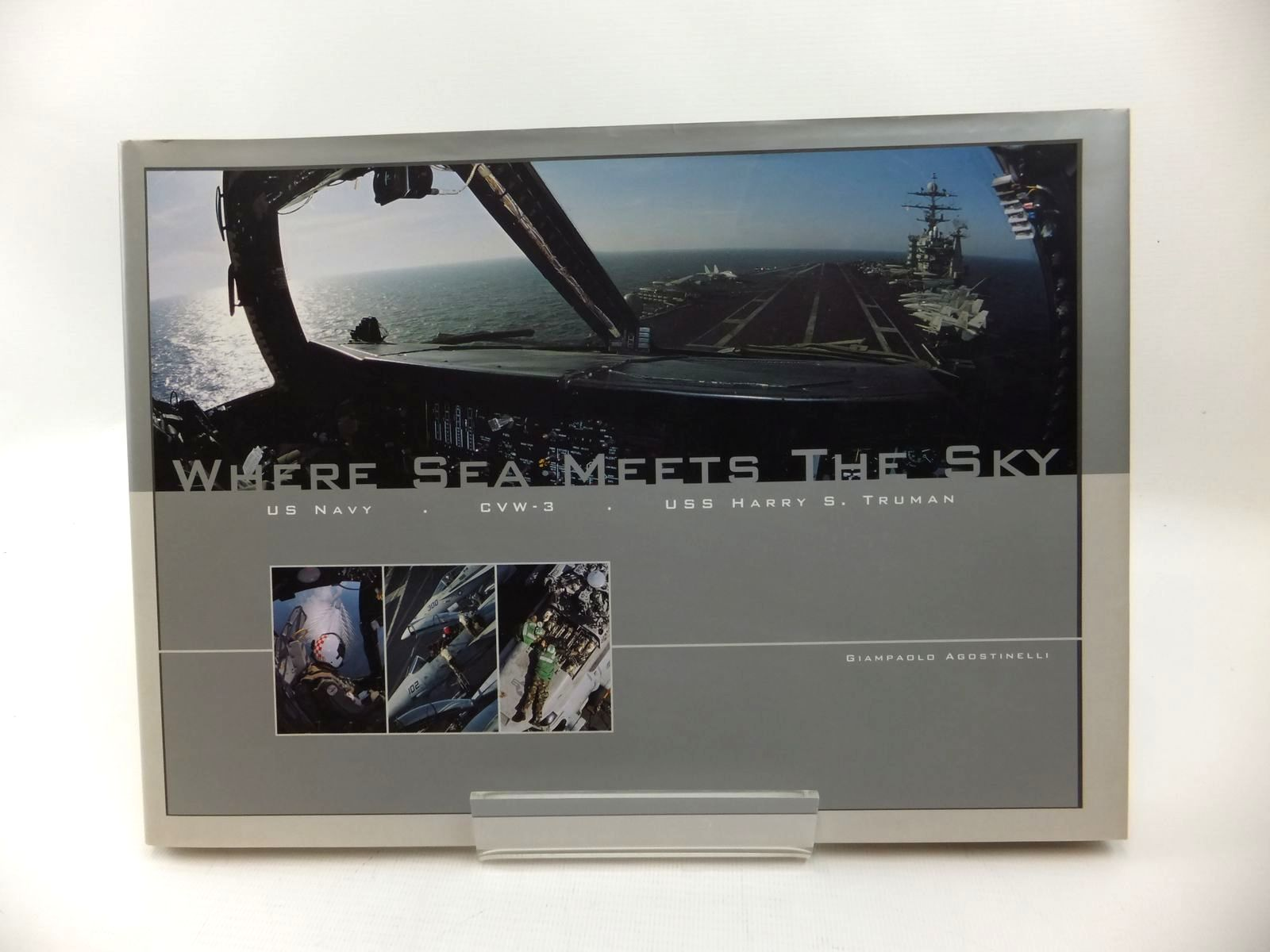 Photo of WHERE SEA MEETS THE SKY written by Agostinelli, Giampaolo published by Tomcat Publishing (STOCK CODE: 1814364)  for sale by Stella & Rose's Books