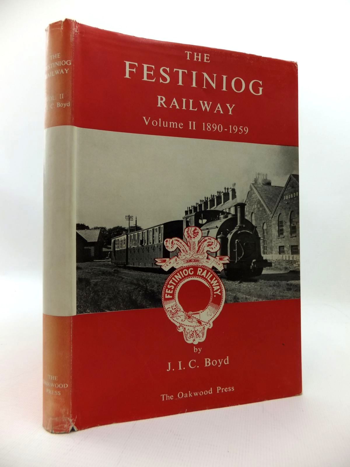 Photo of THE FESTINIOG RAILWAY VOLUME II 1890 - 1959 written by Boyd, James I.C. illustrated by Lloyd, J.M.<br />Tustin, R.E. published by The Oakwood Press (STOCK CODE: 1814408)  for sale by Stella & Rose's Books