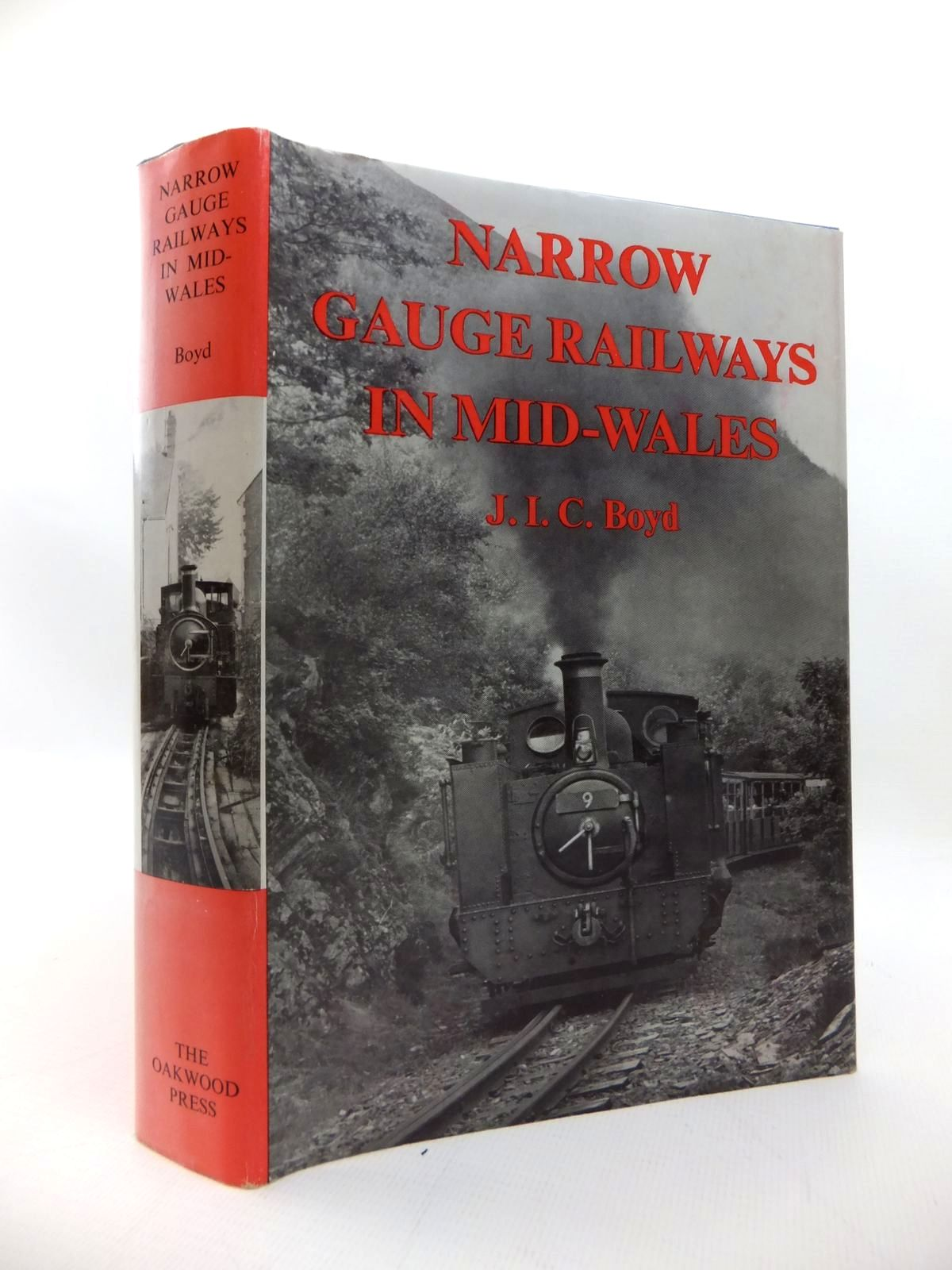 Photo of NARROW GAUGE RAILWAYS IN MID-WALES written by Boyd, James I.C. illustrated by Lloyd, J.M. published by The Oakwood Press (STOCK CODE: 1814417)  for sale by Stella & Rose's Books
