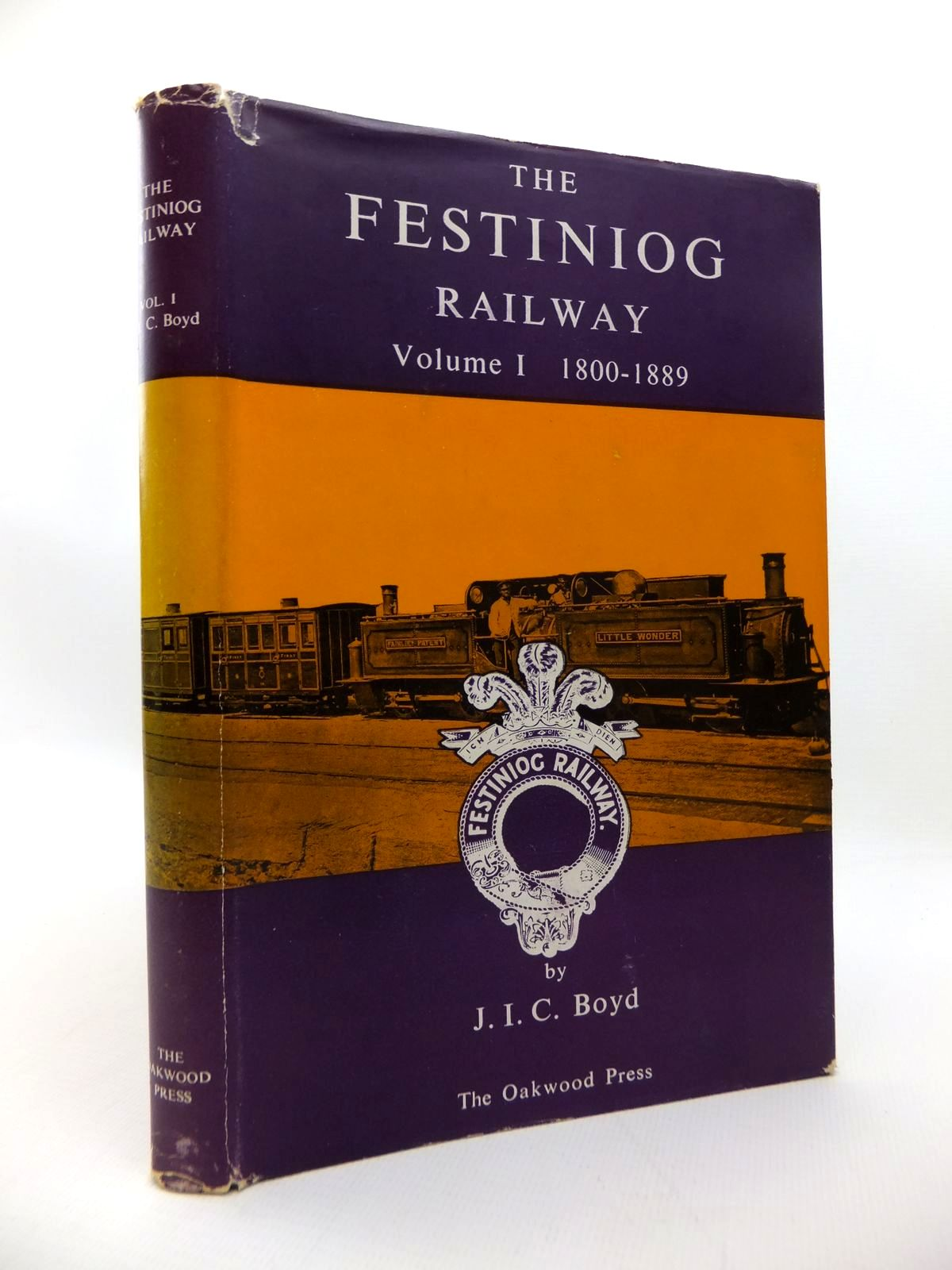 Photo of THE FESTINIOG RAILWAY VOLUME I 1800-1889 written by Boyd, James I.C. published by The Oakwood Press (STOCK CODE: 1814423)  for sale by Stella & Rose's Books