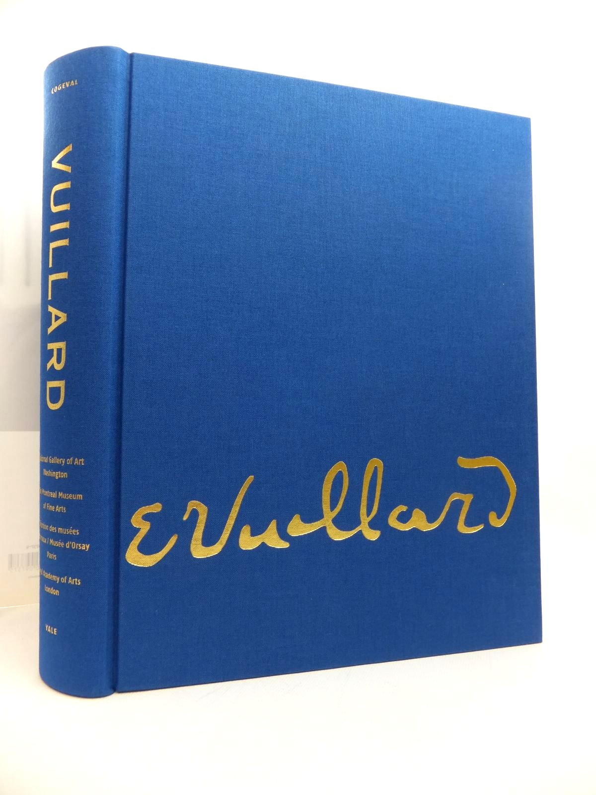 Photo of EDOUARD VUILLARD written by Cogeval, Guy<br />et al, illustrated by Vuillard, Edouard published by The Montreal Museum Of Fine Arts, The National Gallery Of Art, Washington, Yale University Press (STOCK CODE: 1814482)  for sale by Stella & Rose's Books