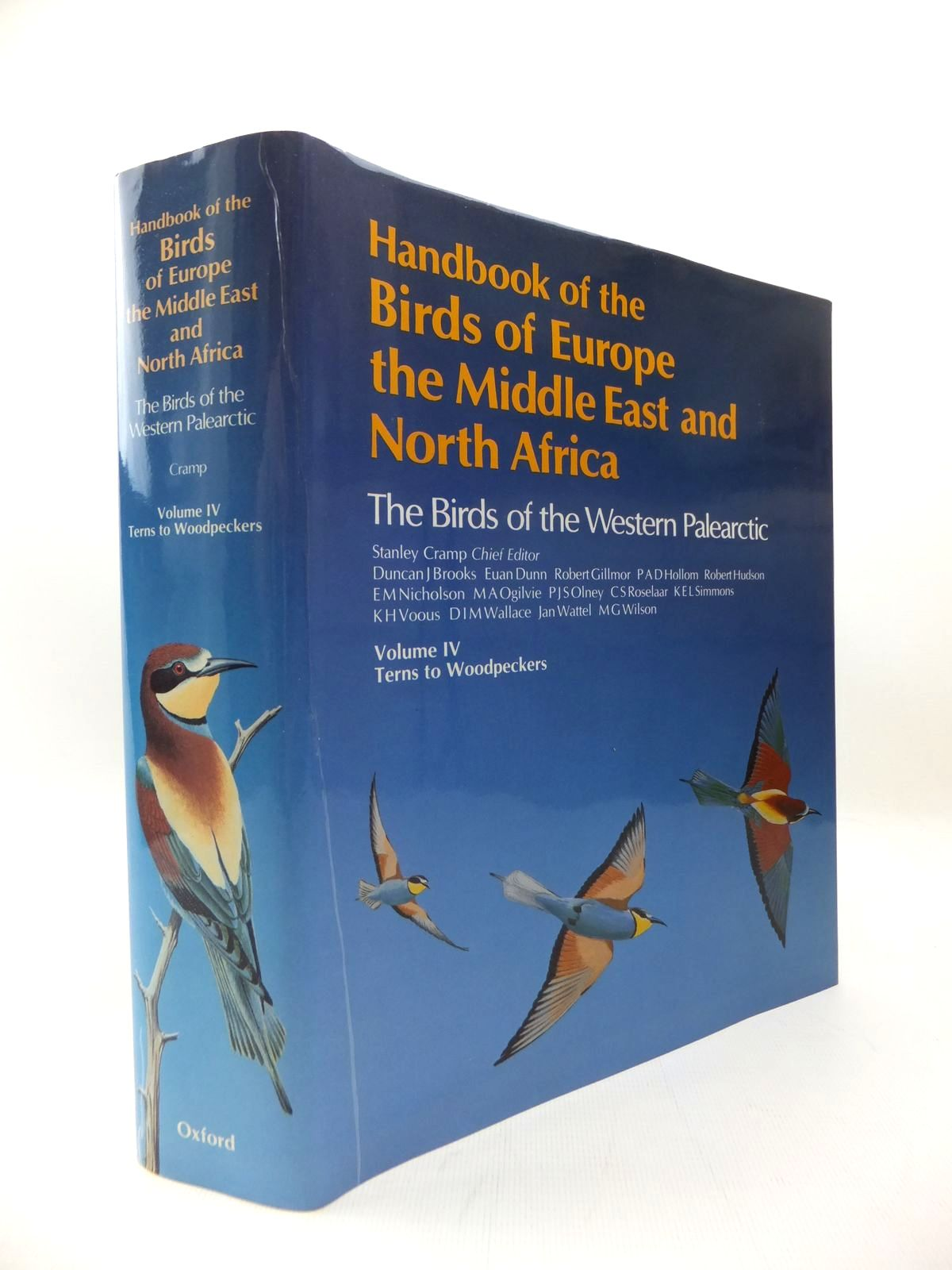 Photo of HANDBOOK OF THE BIRDS OF EUROPE THE MIDDLE EAST AND NORTH AFRICA VOLUME IV TERNS TO WOODPECKERS written by Cramp, Stanley published by Oxford University Press (STOCK CODE: 1814497)  for sale by Stella & Rose's Books