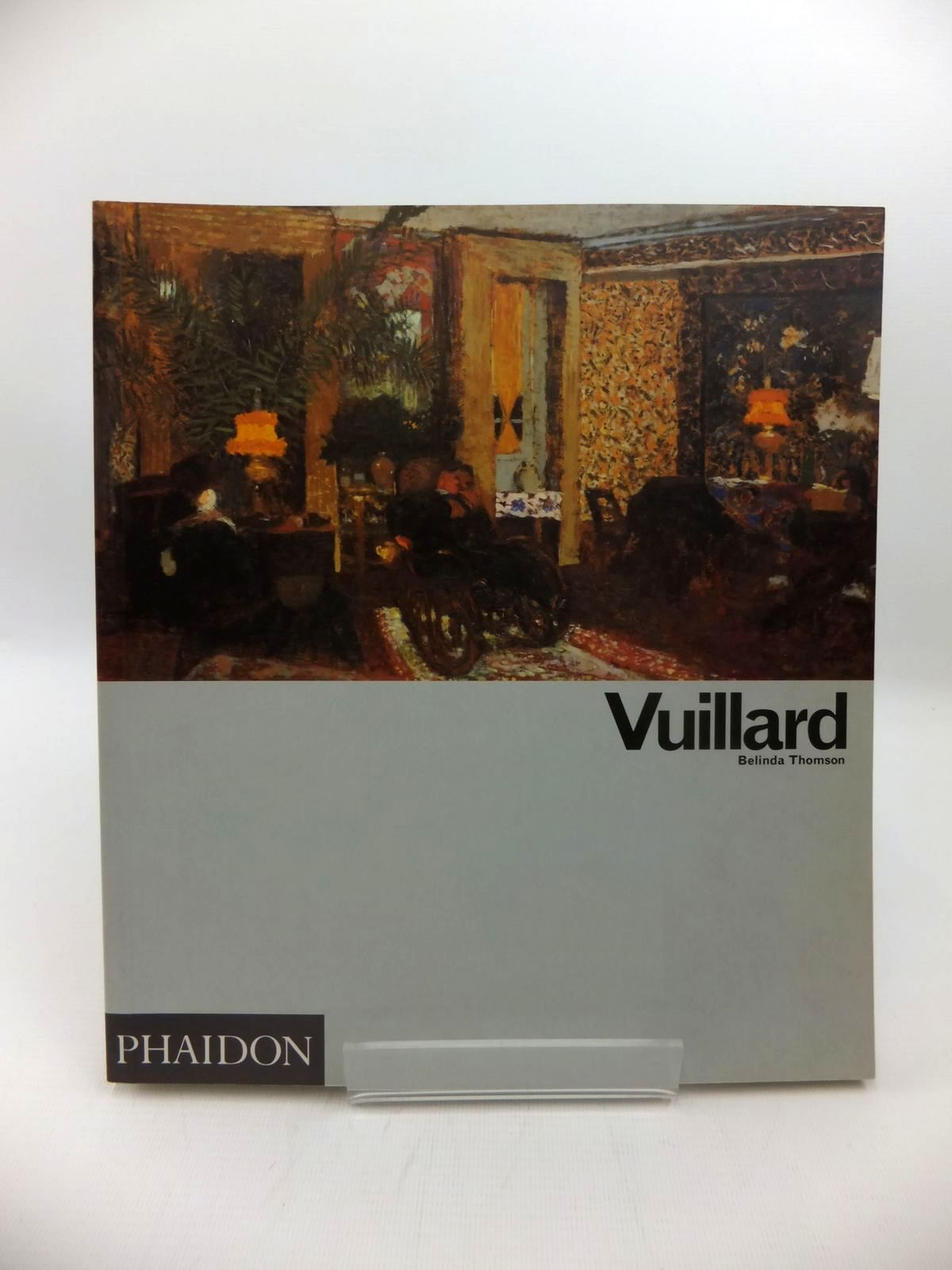 Photo of VUILLARD written by Thomson, Belinda illustrated by Vuillard, Edouard published by Phaidon Press Limited (STOCK CODE: 1814505)  for sale by Stella & Rose's Books