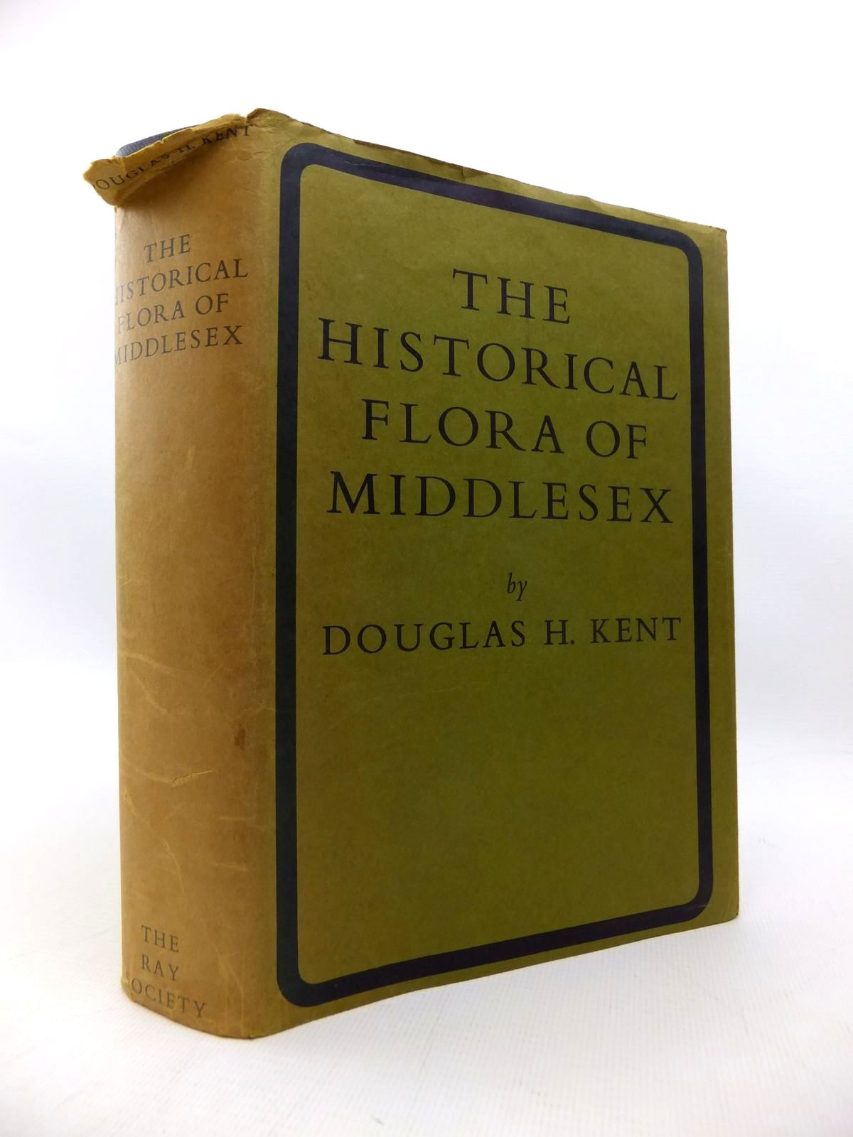 Photo of THE HISTORICAL FLORA OF MIDDLESEX written by Kent, Douglas M. published by The Ray Society London (STOCK CODE: 1814515)  for sale by Stella & Rose's Books