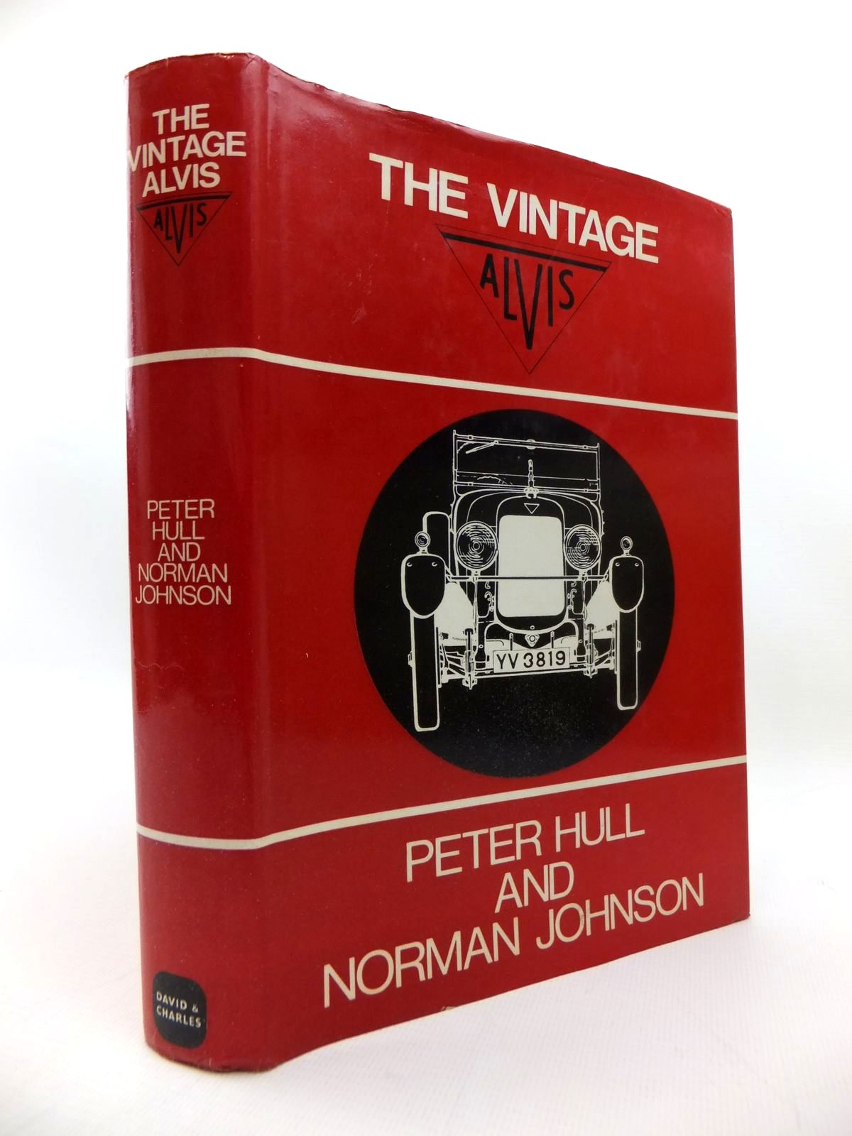 Photo of THE VINTAGE ALVIS written by Hull, Peter<br />Johnson, N. published by David & Charles (STOCK CODE: 1814553)  for sale by Stella & Rose's Books