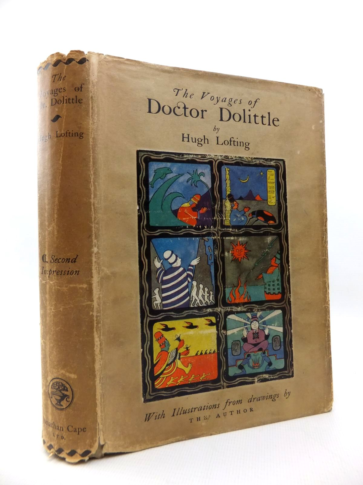 Photo of THE VOYAGES OF DOCTOR DOLITTLE written by Lofting, Hugh illustrated by Lofting, Hugh published by Jonathan Cape (STOCK CODE: 1814560)  for sale by Stella & Rose's Books