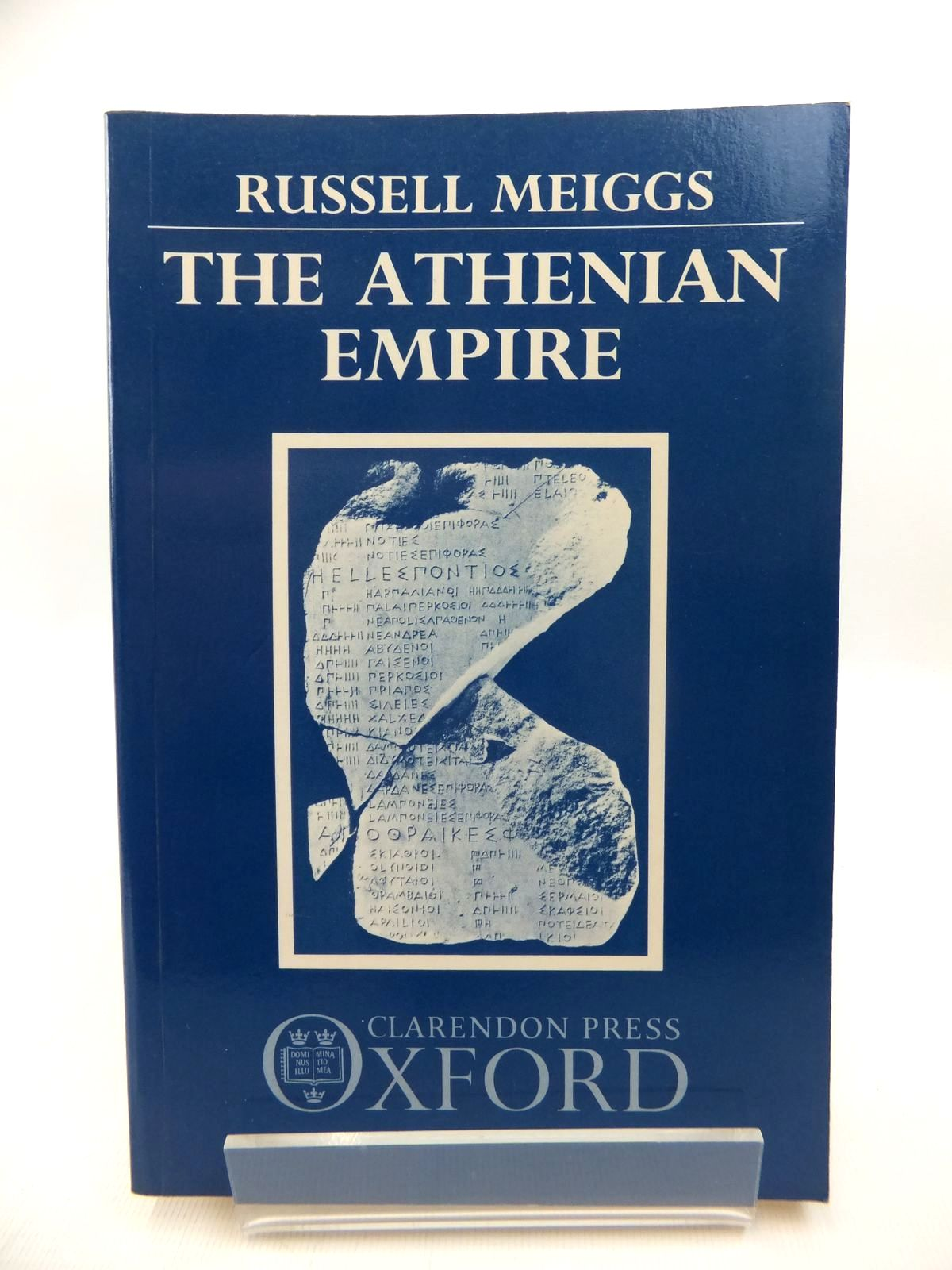 Photo of THE ATHENIAN EMPIRE written by Meiggs, Russell published by Clarendon Press (STOCK CODE: 1814568)  for sale by Stella & Rose's Books