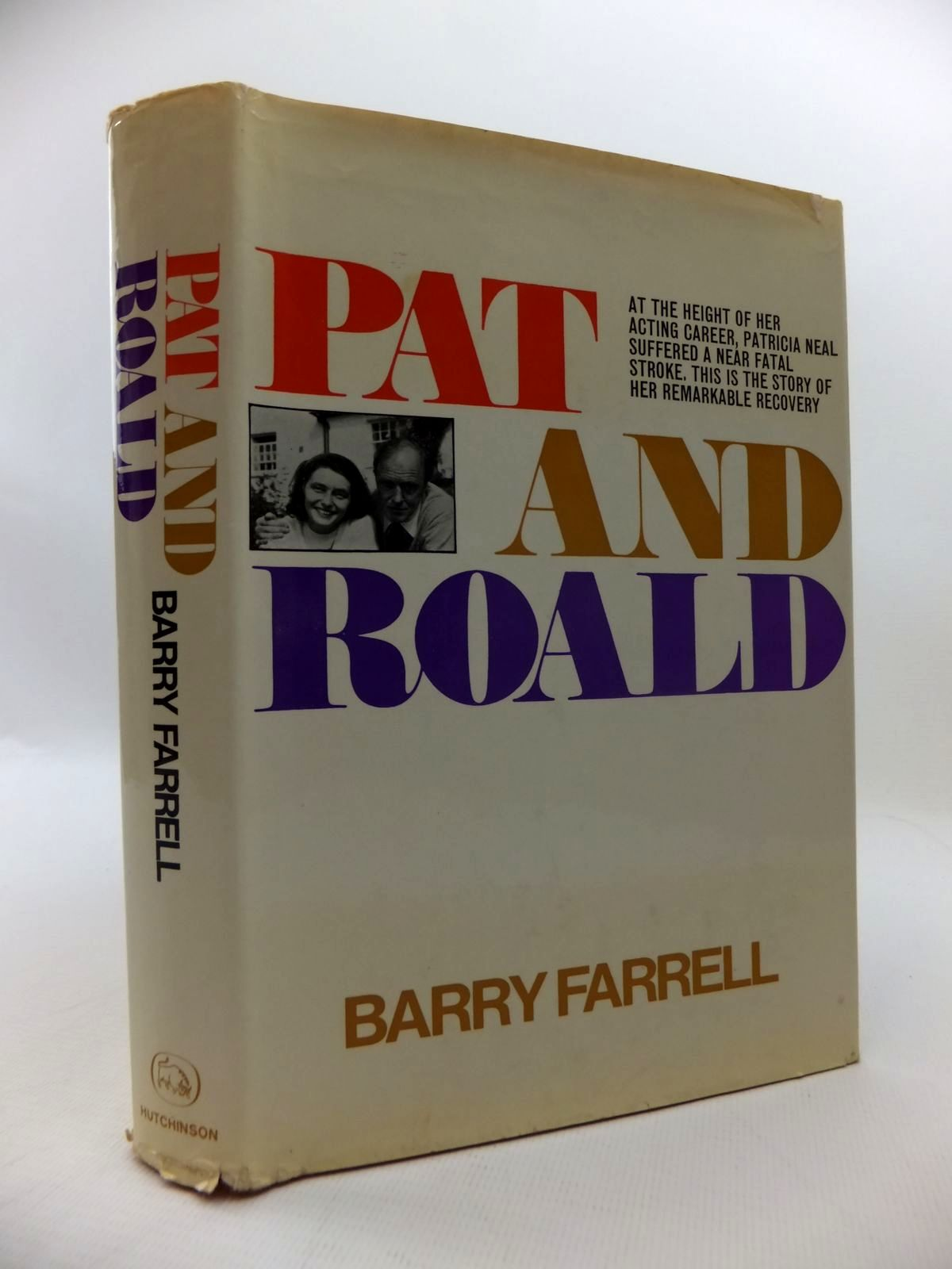 Photo of PAT & ROALD written by Farrell, Barry published by Hutchinson of London (STOCK CODE: 1814617)  for sale by Stella & Rose's Books