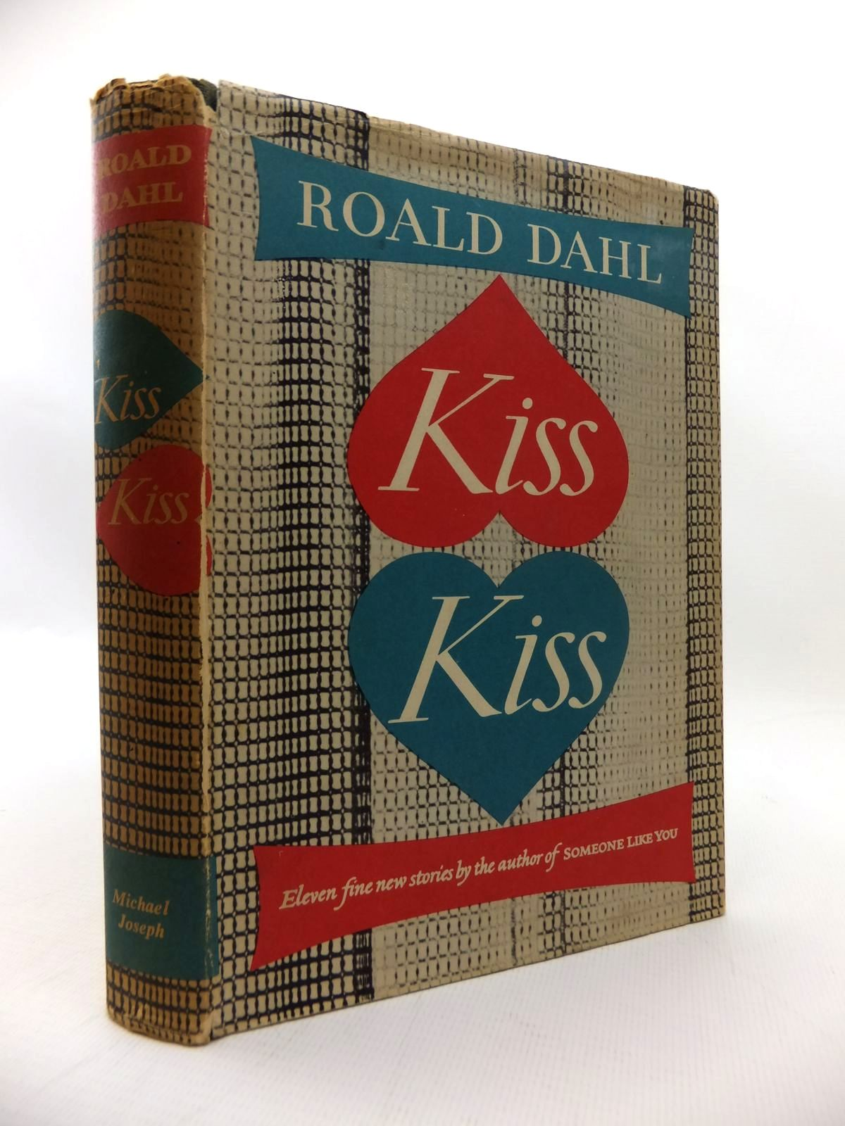 Photo of KISS KISS written by Dahl, Roald published by Michael Joseph (STOCK CODE: 1814620)  for sale by Stella & Rose's Books