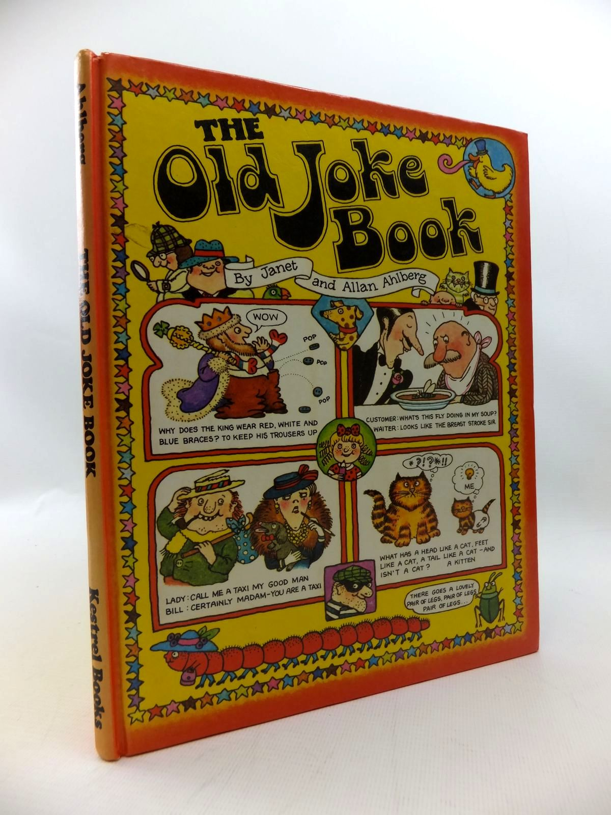 Photo of THE OLD JOKE BOOK written by Ahlberg, Allan illustrated by Ahlberg, Janet published by Kestrel Books (STOCK CODE: 1814625)  for sale by Stella & Rose's Books