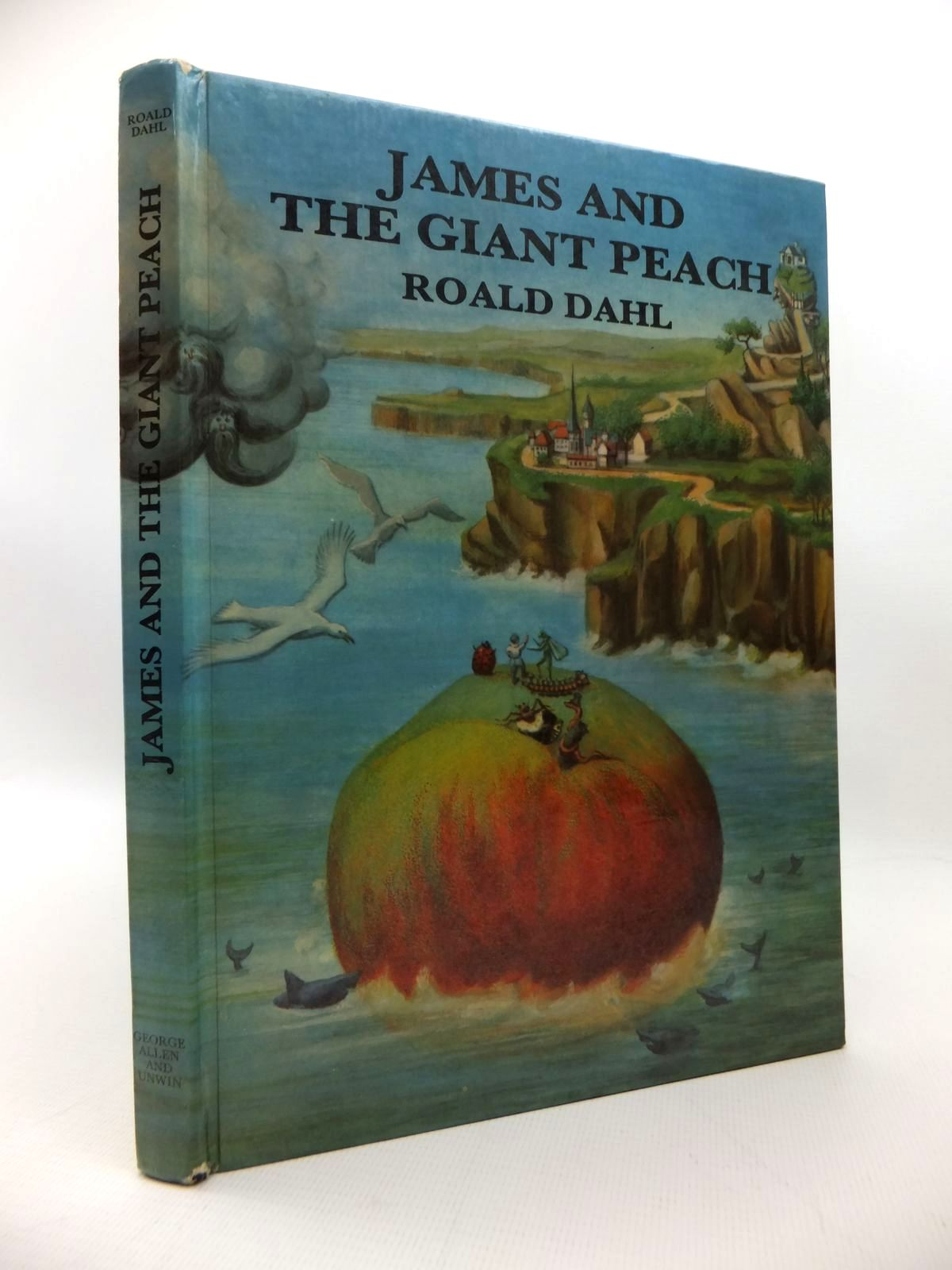 Photo of JAMES AND THE GIANT PEACH written by Dahl, Roald illustrated by Simeon, Michel published by George Allen & Unwin Ltd. (STOCK CODE: 1814640)  for sale by Stella & Rose's Books