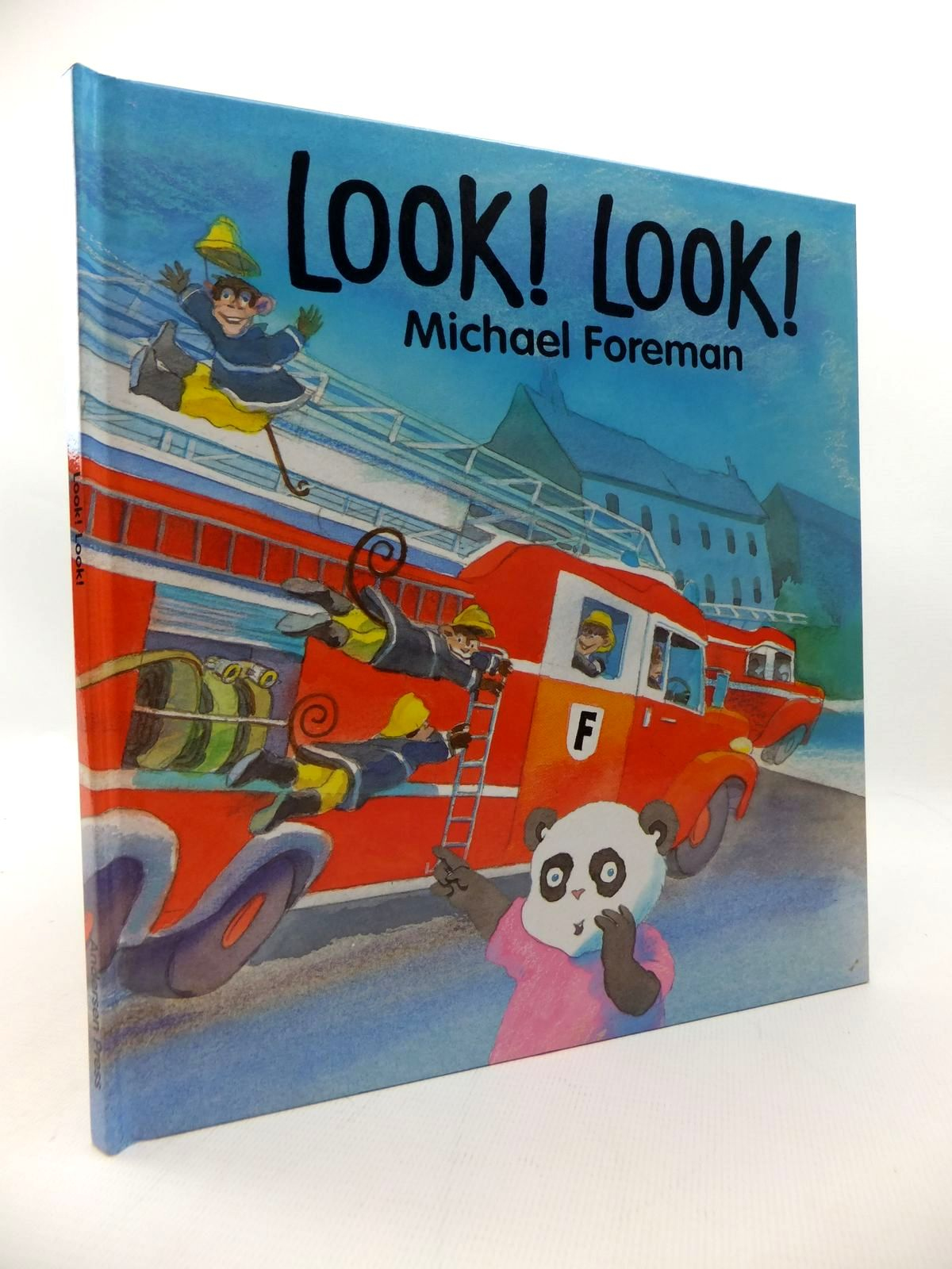 Photo of LOOK! LOOK! written by Foreman, Michael illustrated by Foreman, Michael published by Andersen Press (STOCK CODE: 1814644)  for sale by Stella & Rose's Books