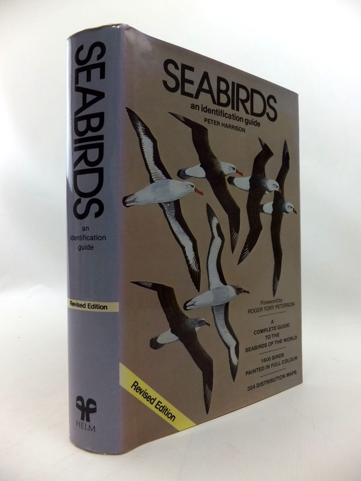 Photo of SEABIRDS AN IDENTIFICATION GUIDE written by Harrison, Peter illustrated by Harrison, Peter published by Christopher Helm (STOCK CODE: 1814657)  for sale by Stella & Rose's Books