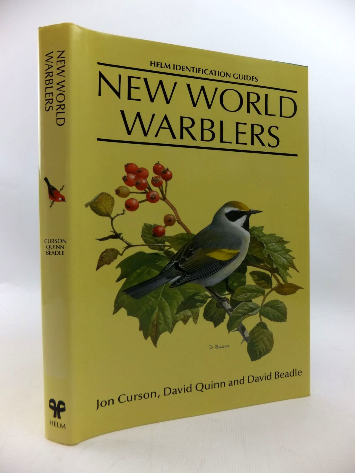 Photo of NEW WORLD WARBLERS (HELM IDENTIFICATION GUIDES) written by Curson, Jon illustrated by Quinn, David<br />Beadle, David published by Christopher Helm (STOCK CODE: 1814660)  for sale by Stella & Rose's Books