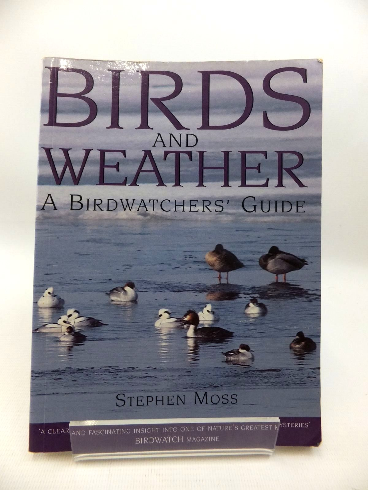 Photo of BIRDS AND WEATHER: A BIRDWATCHER'S GUIDE