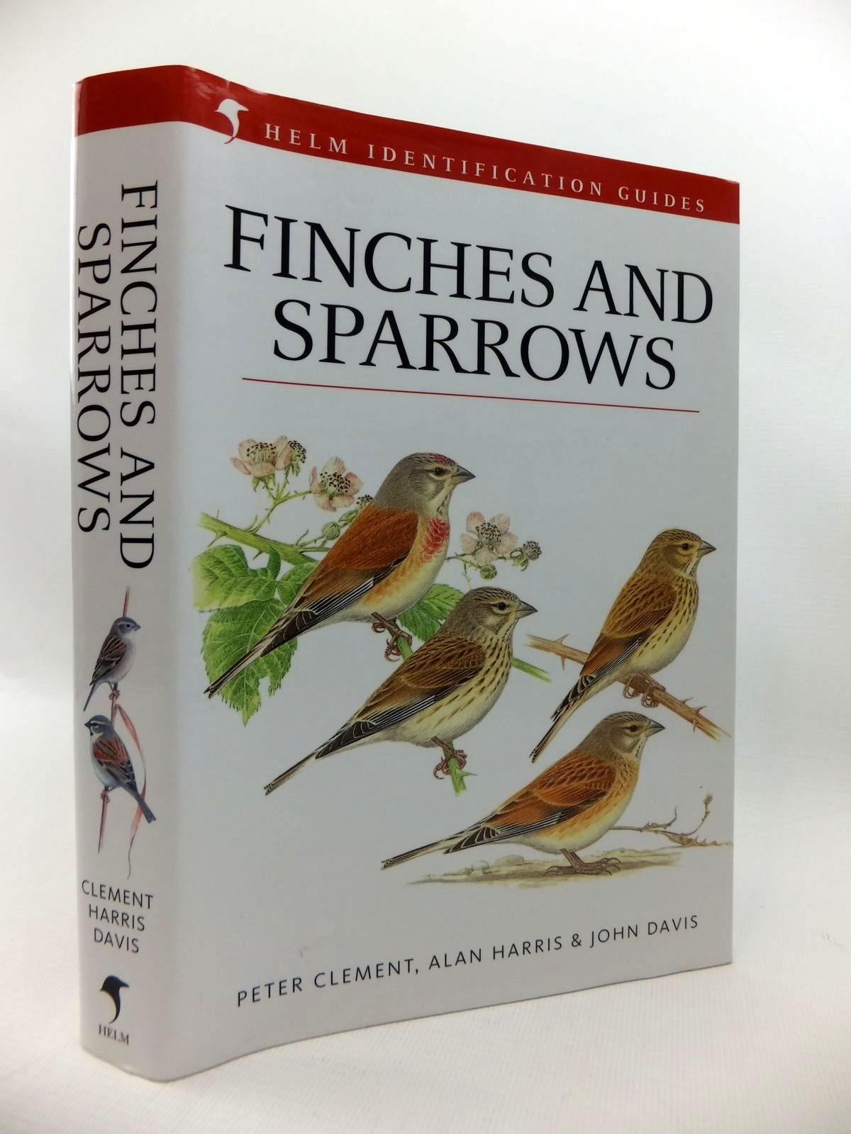 Photo of FINCHES & SPARROWS (HELM IDENTIFICATION GUIDES) written by Clement, Peter illustrated by Harris, Alan<br />Davis, John published by Christopher Helm (STOCK CODE: 1814672)  for sale by Stella & Rose's Books