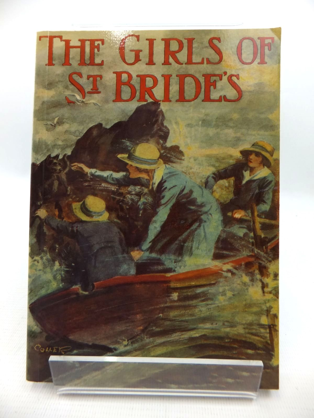 Photo of THE GIRLS OF ST. BRIDE'S written by Bruce, Dorita Fairlie illustrated by Coller, Henry published by Girls Gone By (STOCK CODE: 1814711)  for sale by Stella & Rose's Books
