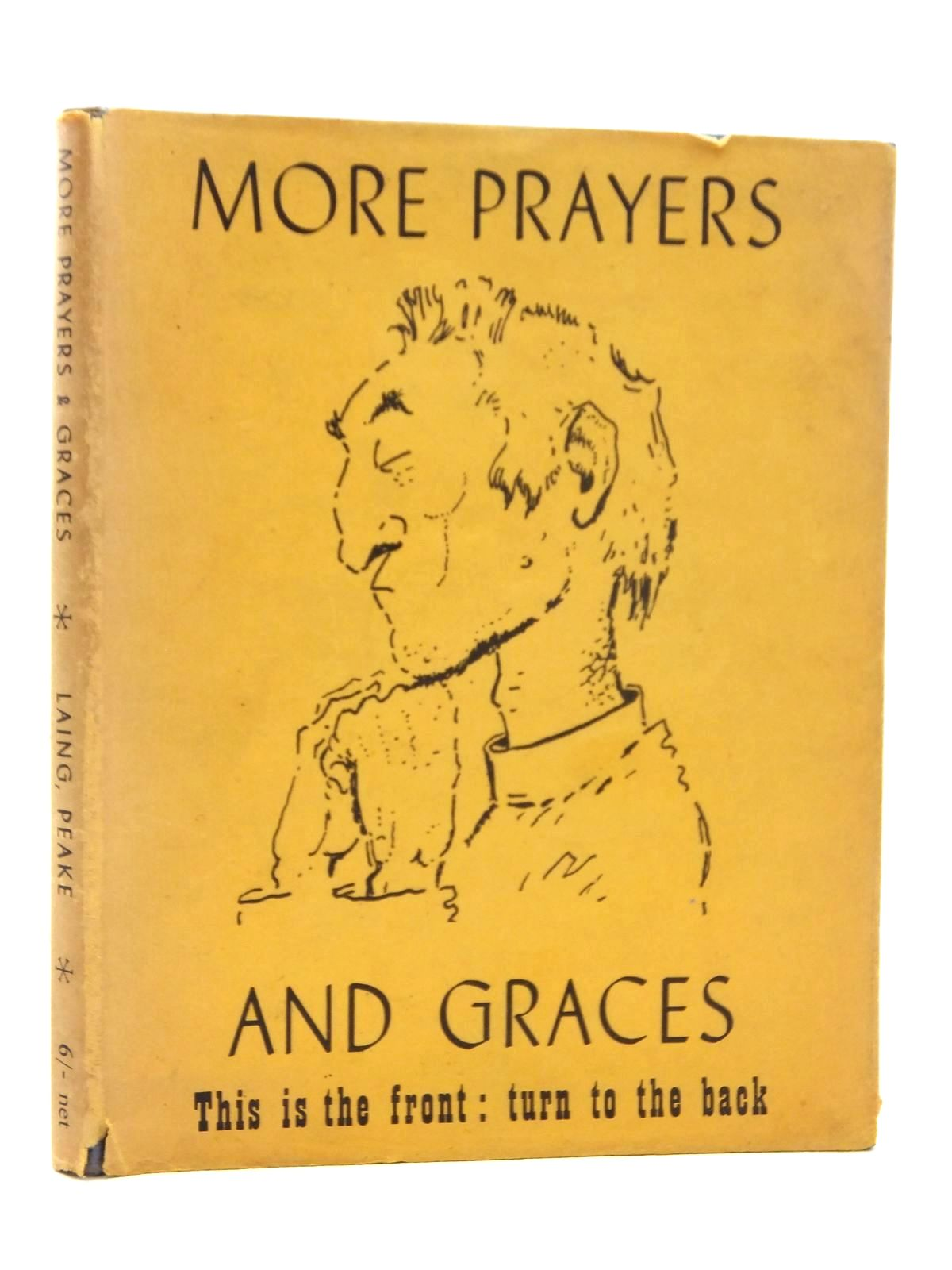 Photo of MORE PRAYERS AND GRACES written by Laing, Allan M. illustrated by Peake, Mervyn published by Victor Gollancz Ltd. (STOCK CODE: 1814724)  for sale by Stella & Rose's Books