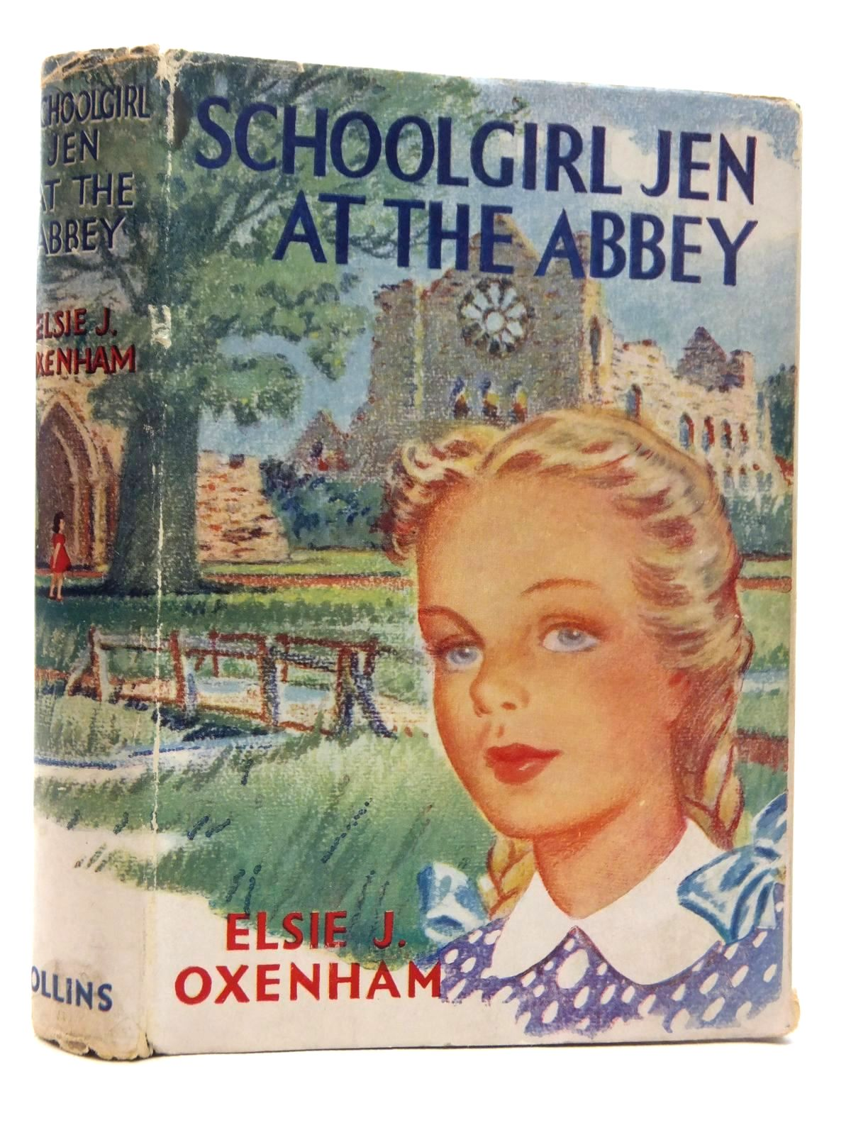 Photo of SCHOOLGIRL JEN AT THE ABBEY written by Oxenham, Elsie J. published by Collins (STOCK CODE: 1814760)  for sale by Stella & Rose's Books