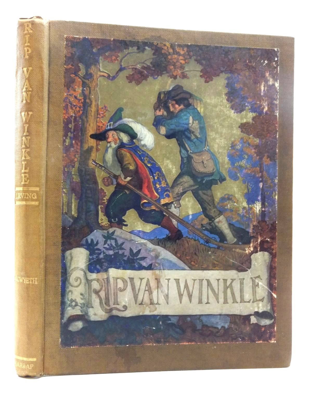 Photo of RIP VAN WINKLE written by Irving, Washington illustrated by Wyeth, N.C. published by George G. Harrap & Co. Ltd. (STOCK CODE: 1814767)  for sale by Stella & Rose's Books