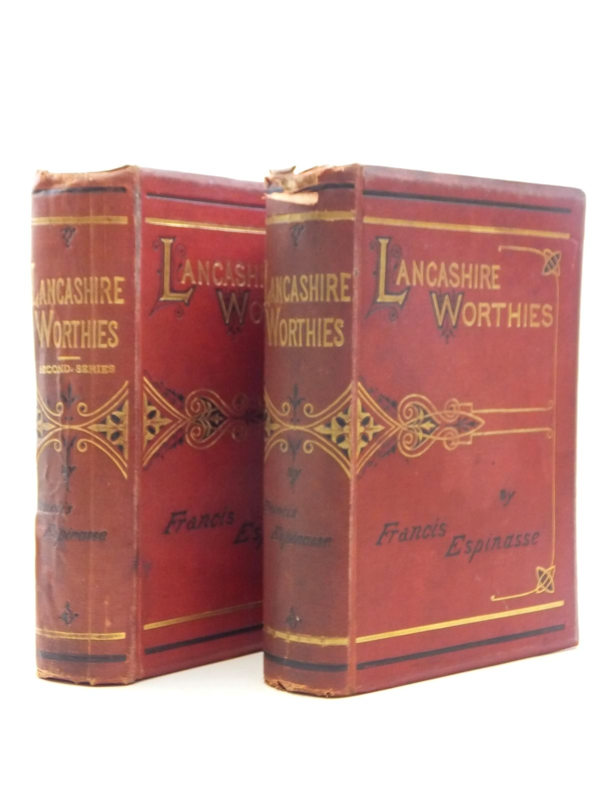 Photo of LANCASHIRE WORTHIES (2 VOLUMES) written by Espinasse, Francis published by Simpkin, Marshall & Co. (STOCK CODE: 1814823)  for sale by Stella & Rose's Books