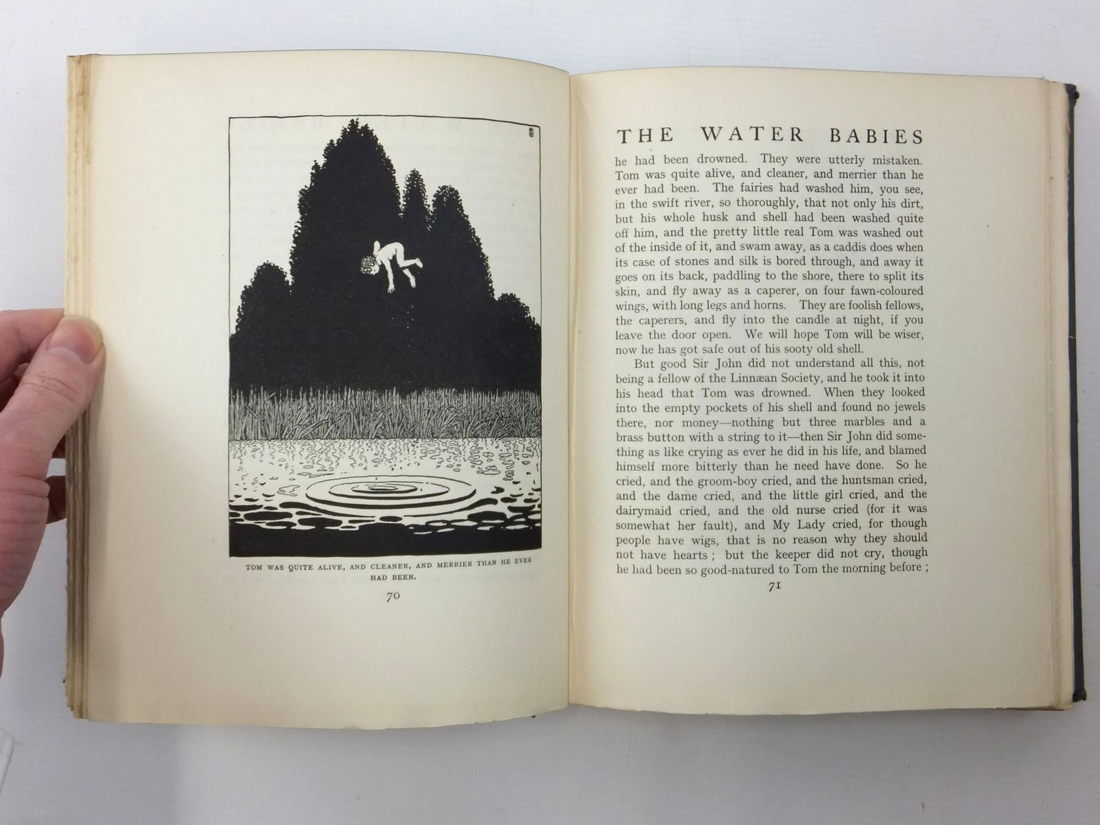 Photo of THE WATER-BABIES written by Kingsley, Charles illustrated by Robinson, W. Heath published by Constable and Company Ltd. (STOCK CODE: 1814880)  for sale by Stella & Rose's Books