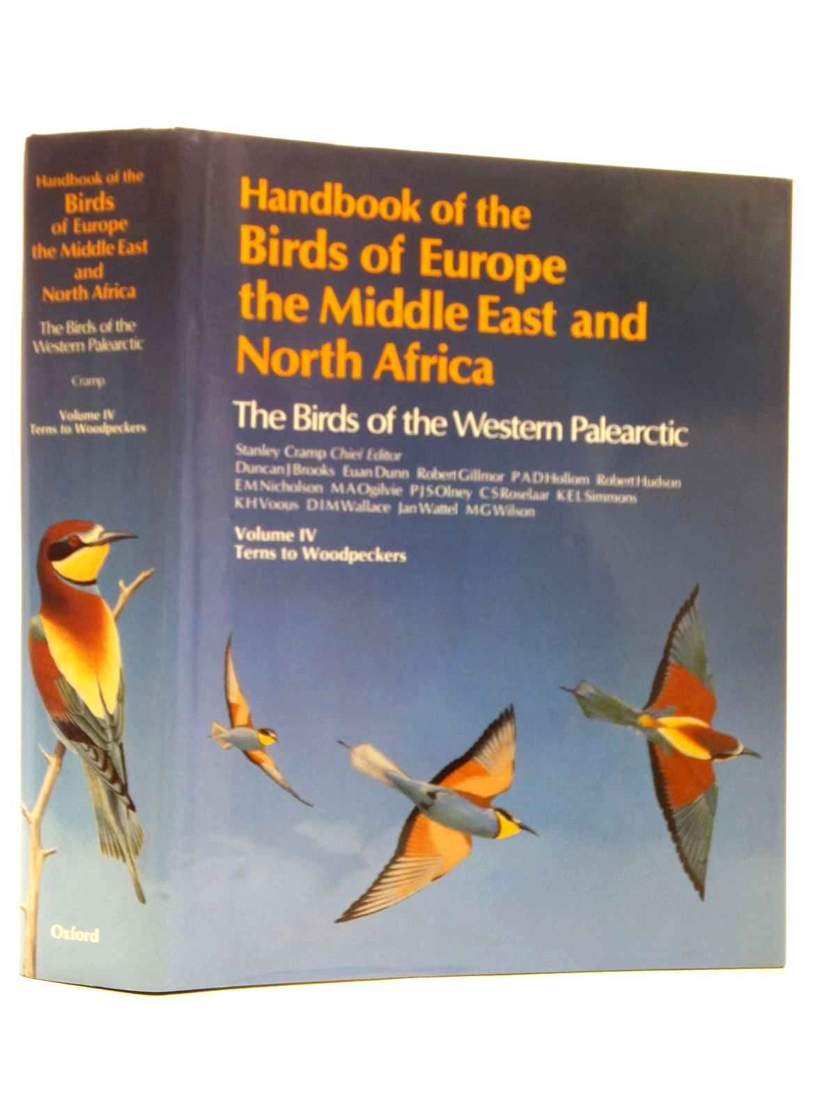 Photo of HANDBOOK OF THE BIRDS OF EUROPE THE MIDDLE EAST AND NORTH AFRICA VOLUME IV TERNS TO WOODPECKERS written by Cramp, Stanley published by Oxford University Press (STOCK CODE: 1814906)  for sale by Stella & Rose's Books