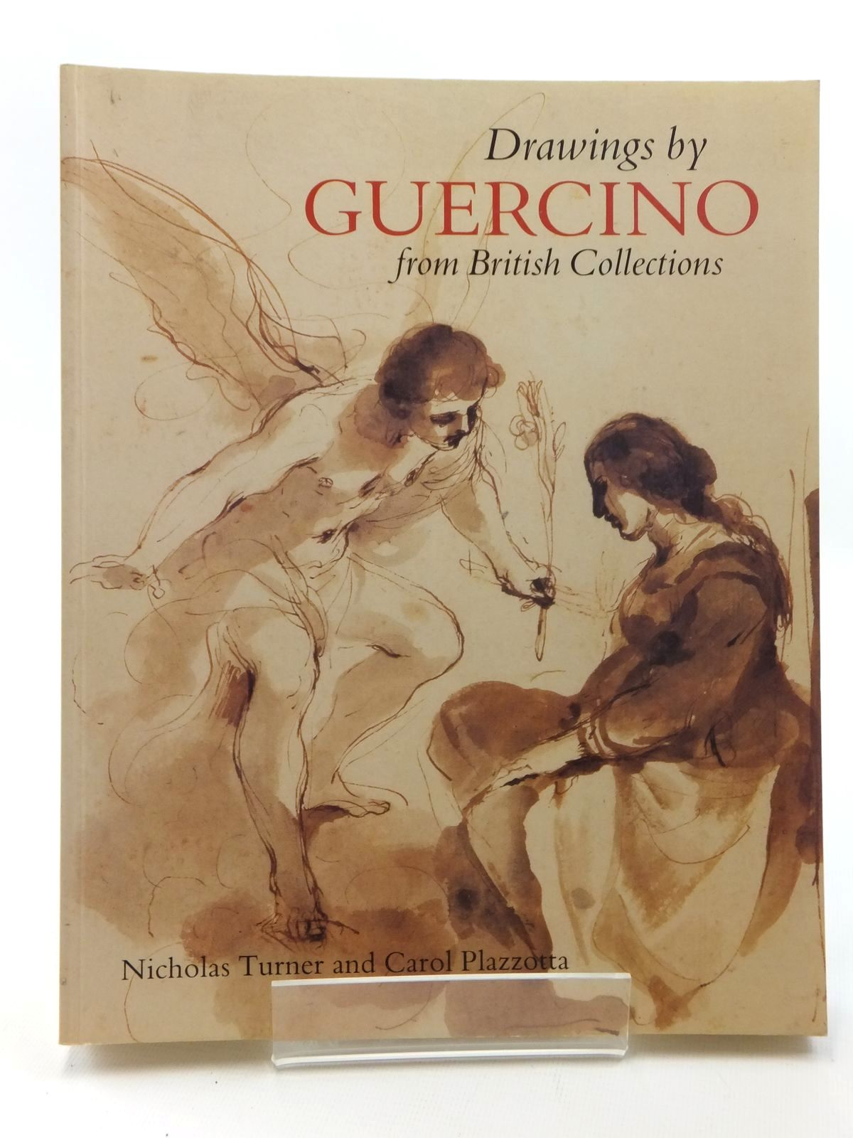 Photo of DRAWINGS BY GUERCINO FROM BRITISH COLLECTIONS written by Turner, Nicholas<br />Plazzotta, Carol illustrated by Barbieri, Giovanni Francesco published by British Museum Press (STOCK CODE: 1814980)  for sale by Stella & Rose's Books