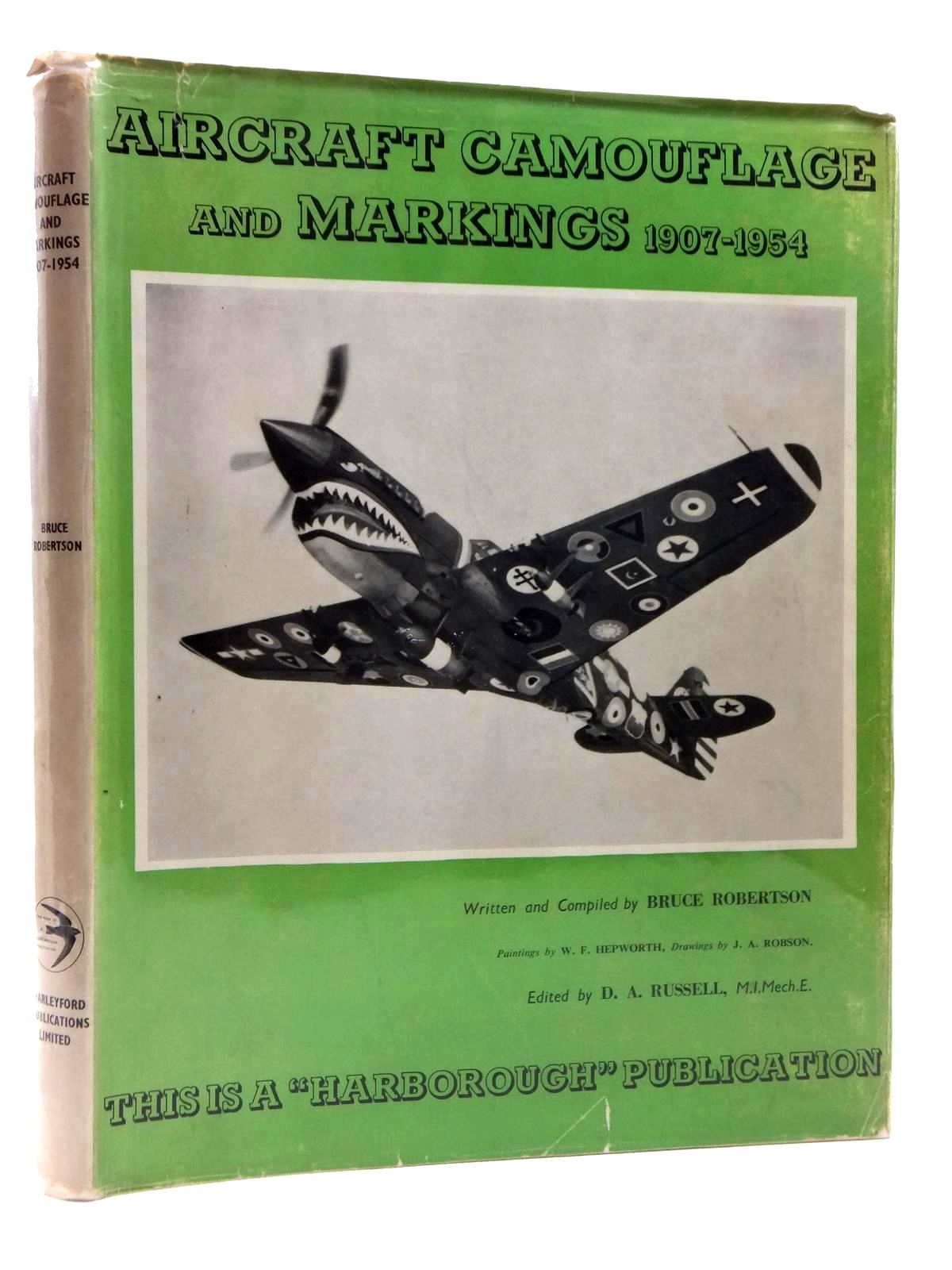 Photo of AIRCRAFT CAMOUFLAGE AND MARKINGS 1907-1954 written by Robertson, Bruce published by Harleyford Publications Limited (STOCK CODE: 1814996)  for sale by Stella & Rose's Books