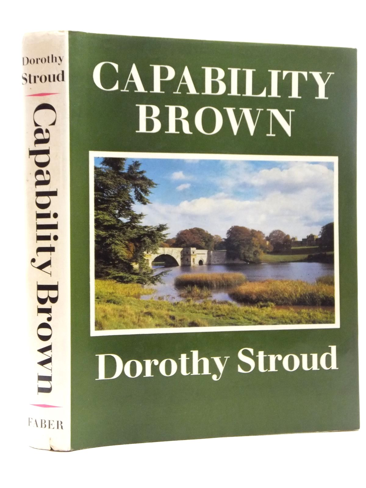 Photo of CAPABILITY BROWN written by Stroud, Dorothy published by Faber & Faber (STOCK CODE: 1815039)  for sale by Stella & Rose's Books