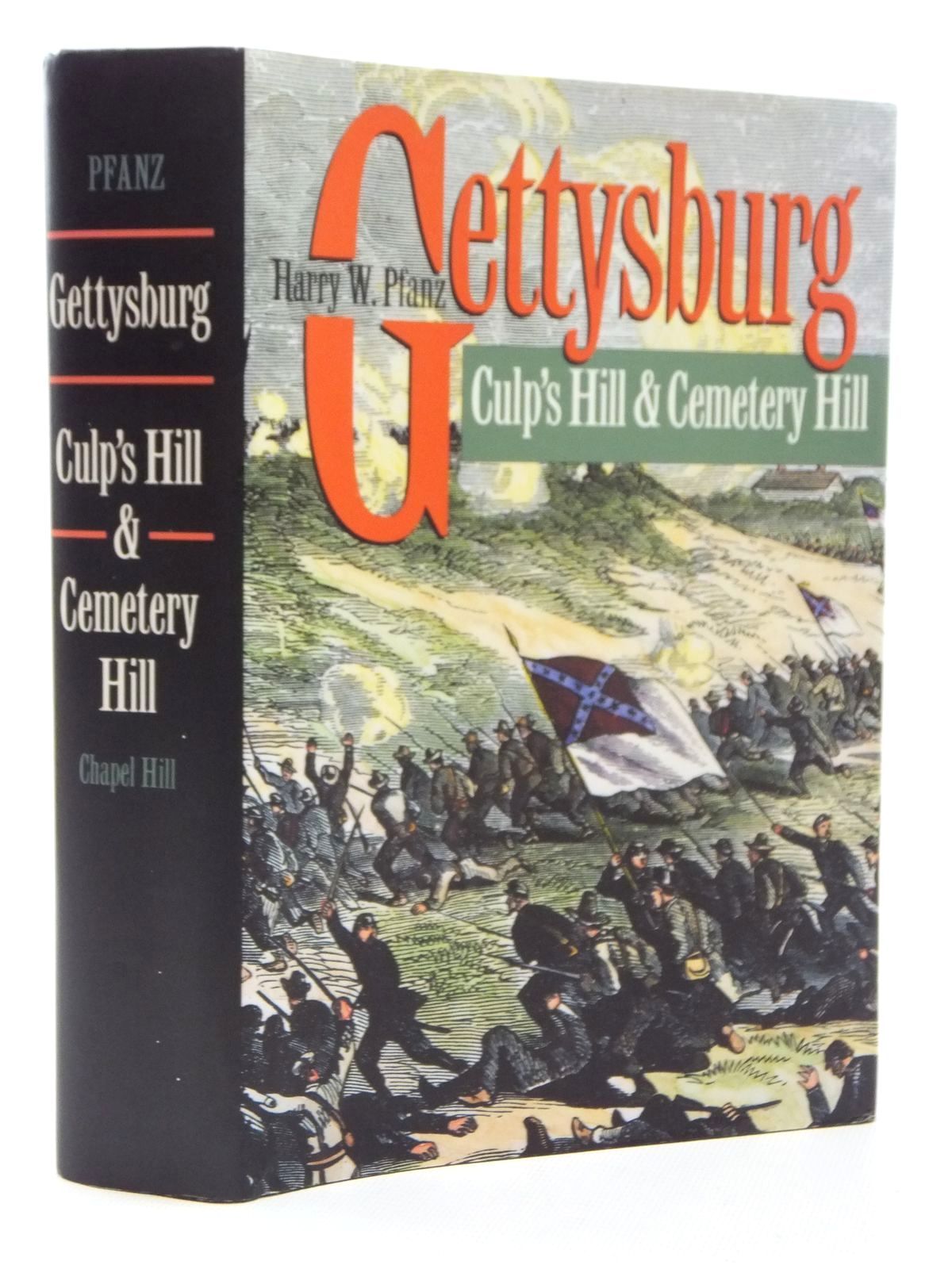 Photo of GETTYSBURG - CULP'S HILL AND CEMETRY HILL written by Pfanz, Harry W. published by University Of North Carolina Press (STOCK CODE: 1815147)  for sale by Stella & Rose's Books