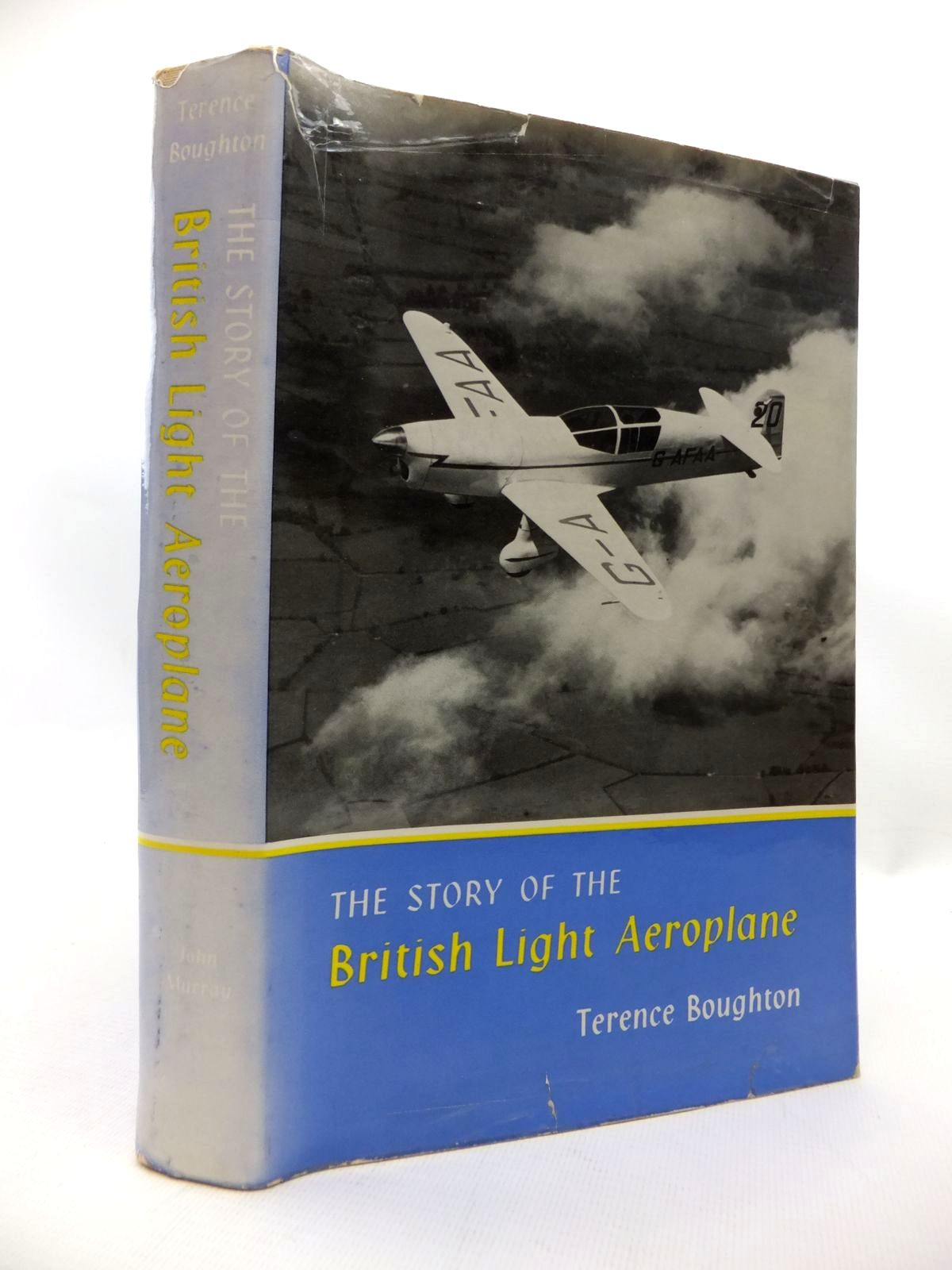 Photo of THE STORY OF THE BRITISH LIGHT AEROPLANE written by Boughton, Terence published by John Murray (STOCK CODE: 1815240)  for sale by Stella & Rose's Books
