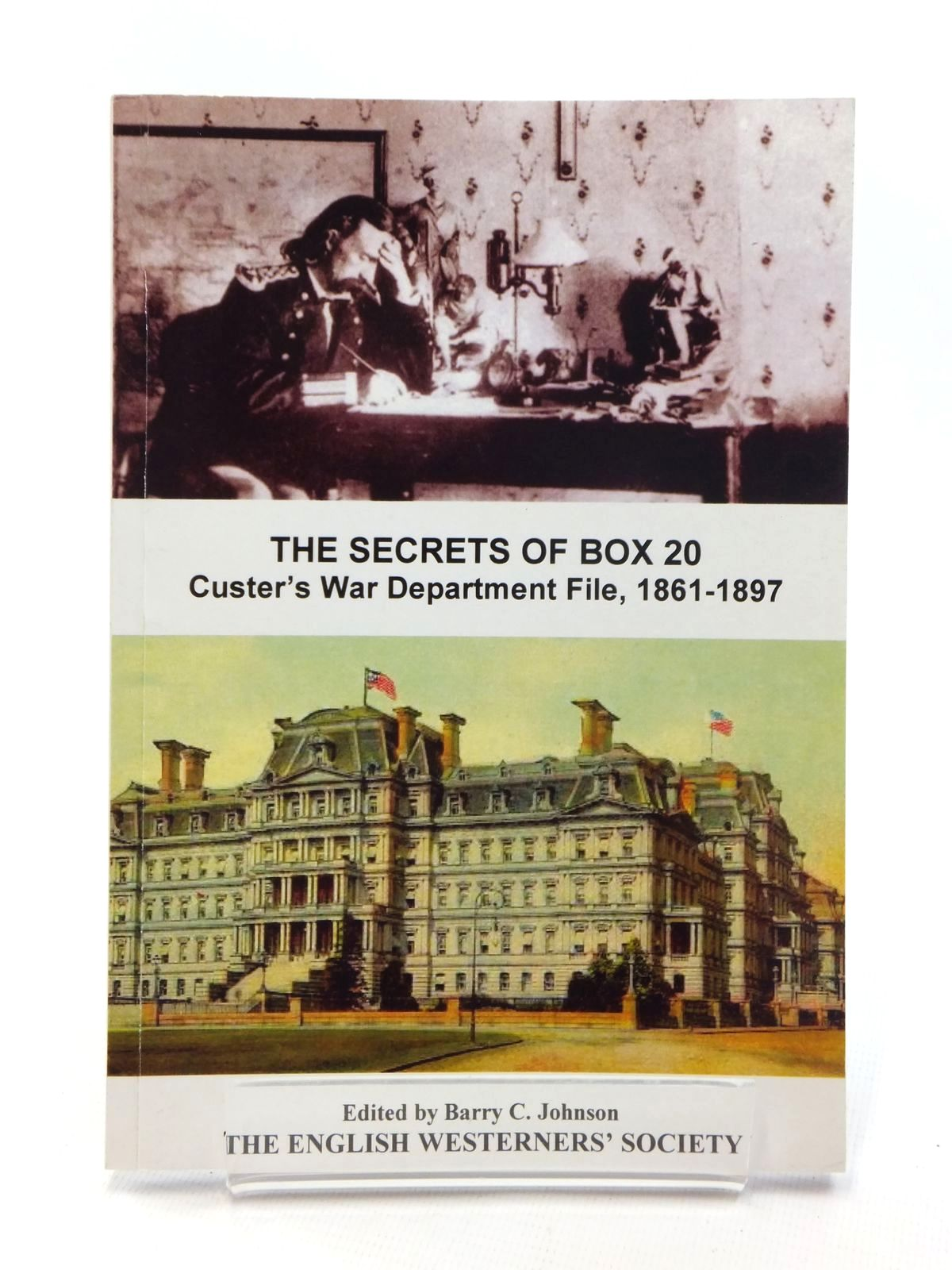 Photo of THE SECRETS OF BOX 20: CUSTER'S WAR DEPARTMENT FILE 1861-1897 written by Johnson, Barry C. published by The English Westerners' Society (STOCK CODE: 1815255)  for sale by Stella & Rose's Books