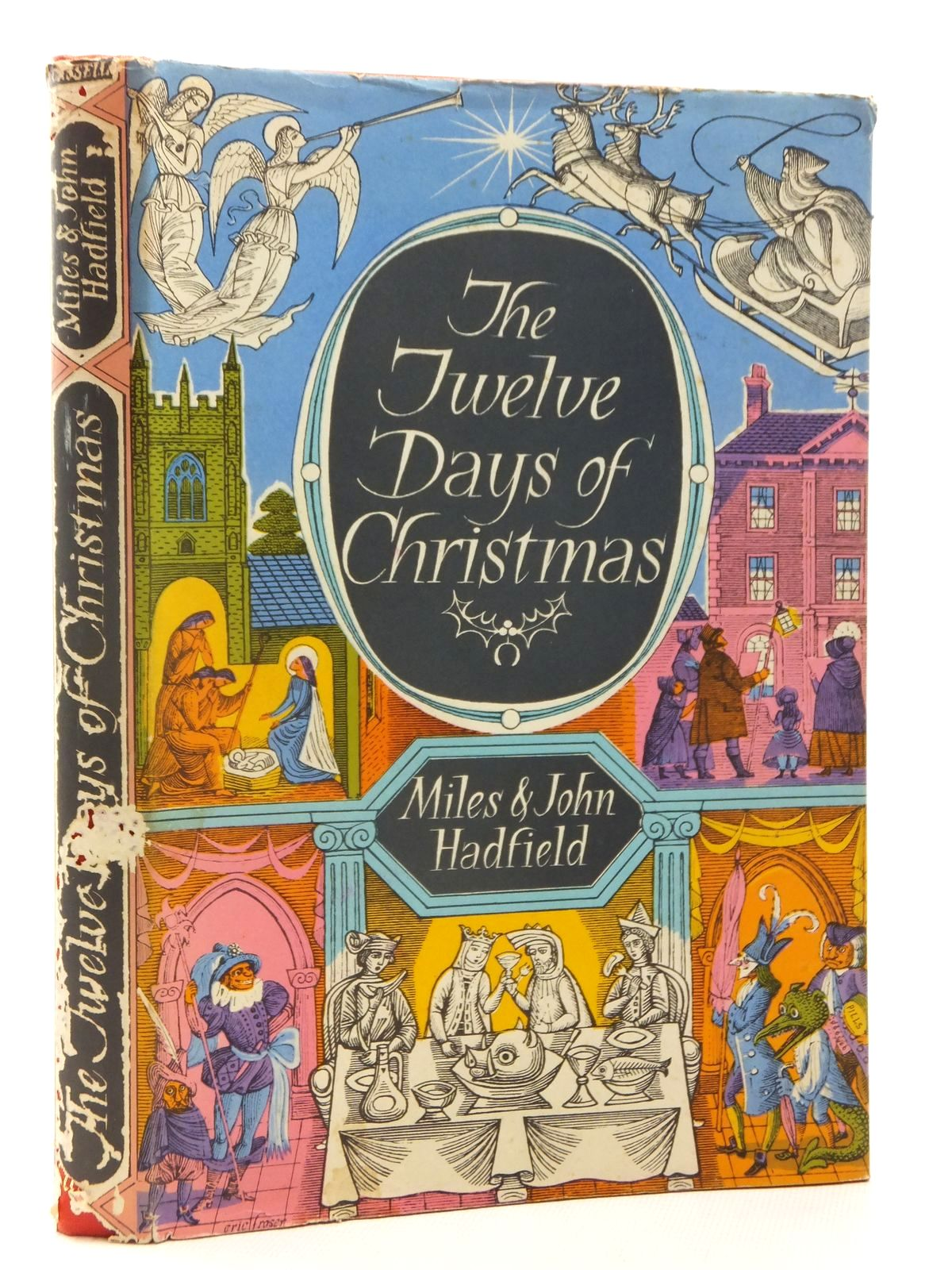 Photo of THE TWELVE DAYS OF CHRISTMAS written by Hadfield, Miles<br />Hadfield, John published by Cassell (STOCK CODE: 1815414)  for sale by Stella & Rose's Books