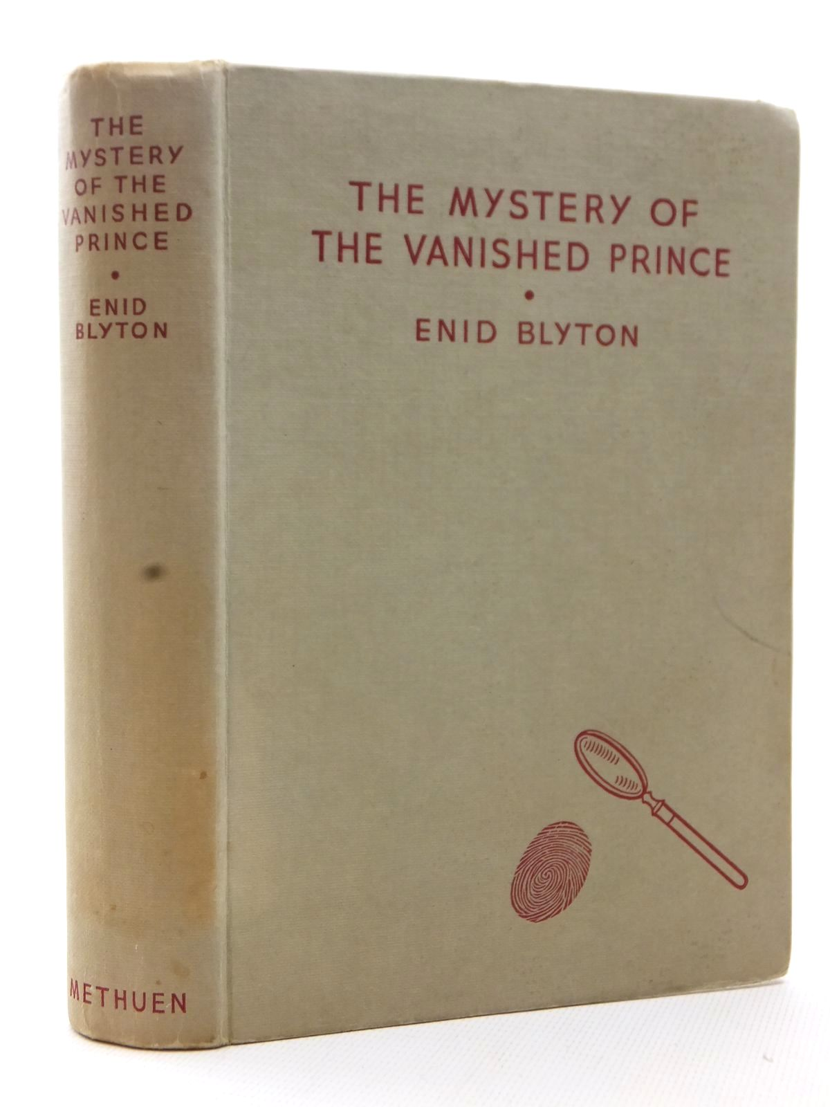 Photo of THE MYSTERY OF THE VANISHED PRINCE written by Blyton, Enid illustrated by Evans, Treyer published by Methuen & Co. Ltd. (STOCK CODE: 1815466)  for sale by Stella & Rose's Books