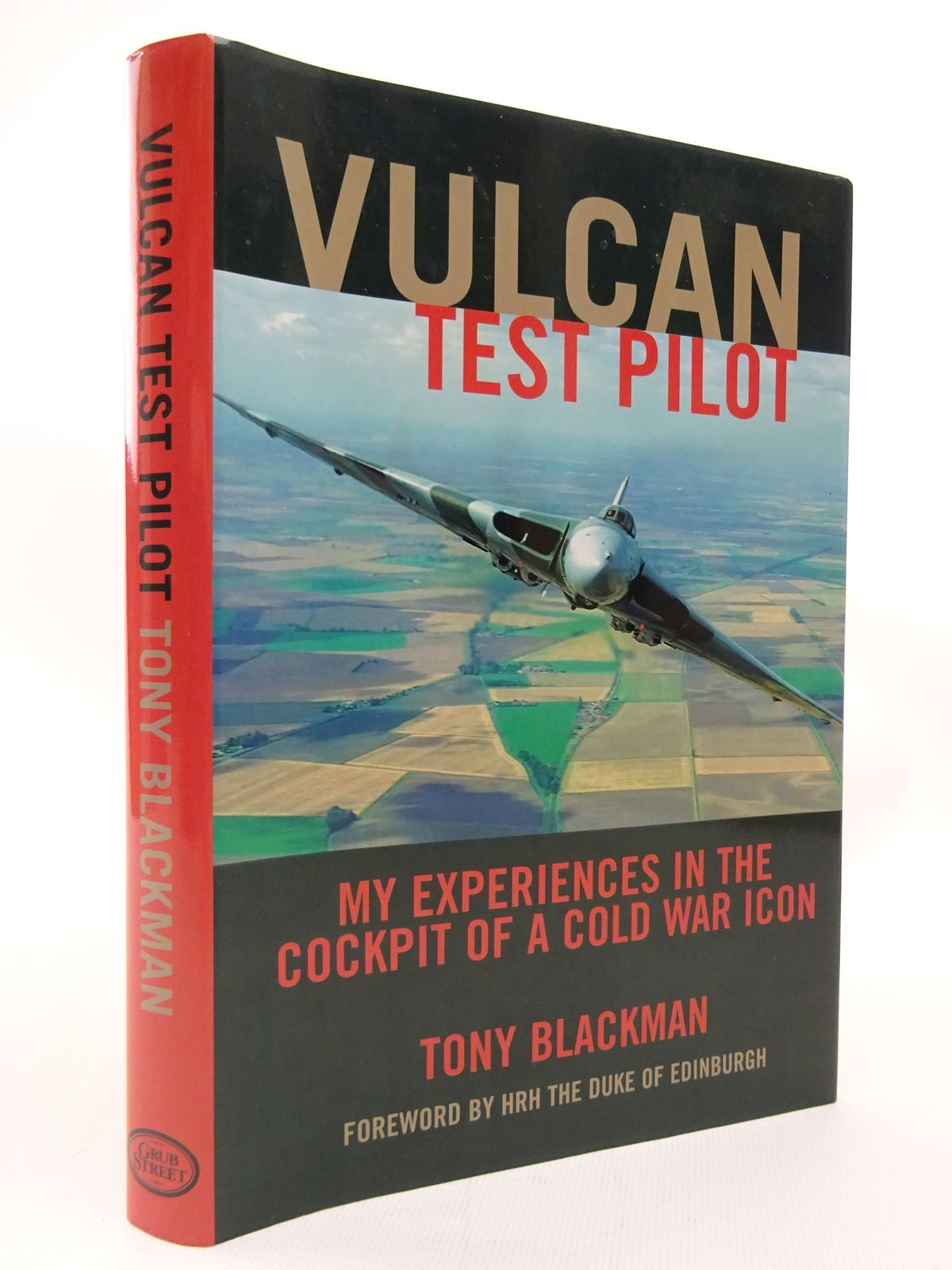 Photo of VULCAN TEST PILOT written by Blackman, Tony published by Grub Street (STOCK CODE: 1815489)  for sale by Stella & Rose's Books