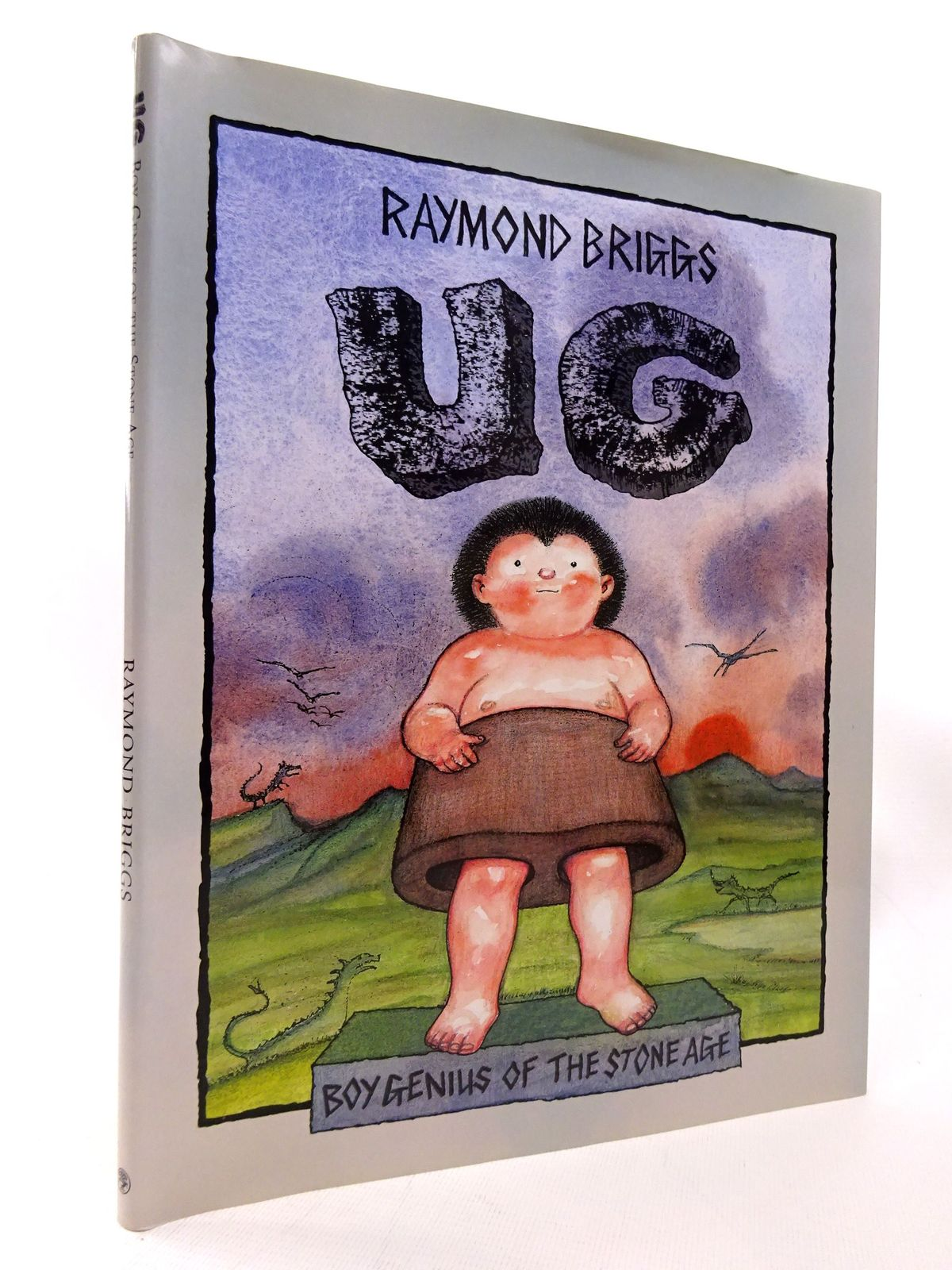 Photo of UG written by Briggs, Raymond illustrated by Briggs, Raymond published by Jonathan Cape (STOCK CODE: 1815516)  for sale by Stella & Rose's Books