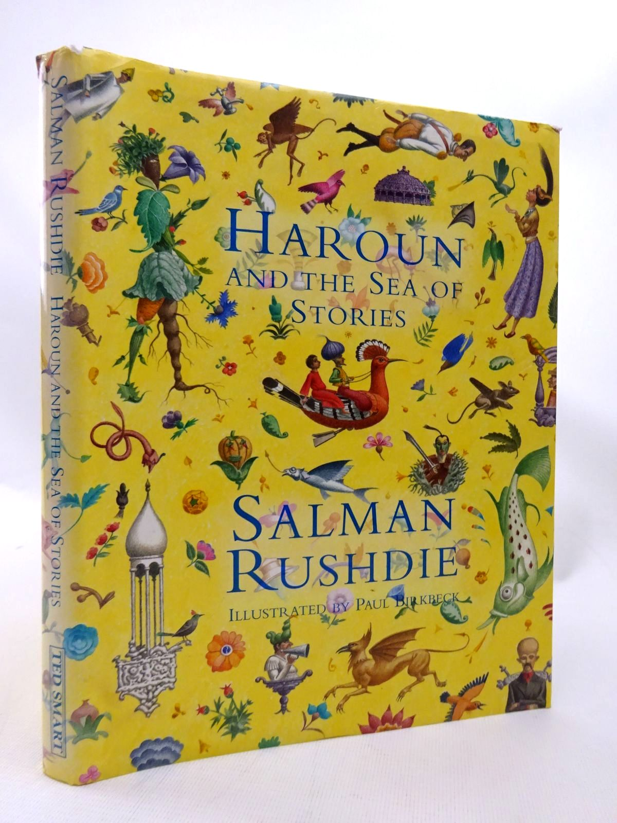 Photo of HAROUN AND THE SEA OF STORIES written by Rushdie, Salman illustrated by Birkbeck, Paul published by Ted Smart (STOCK CODE: 1815526)  for sale by Stella & Rose's Books